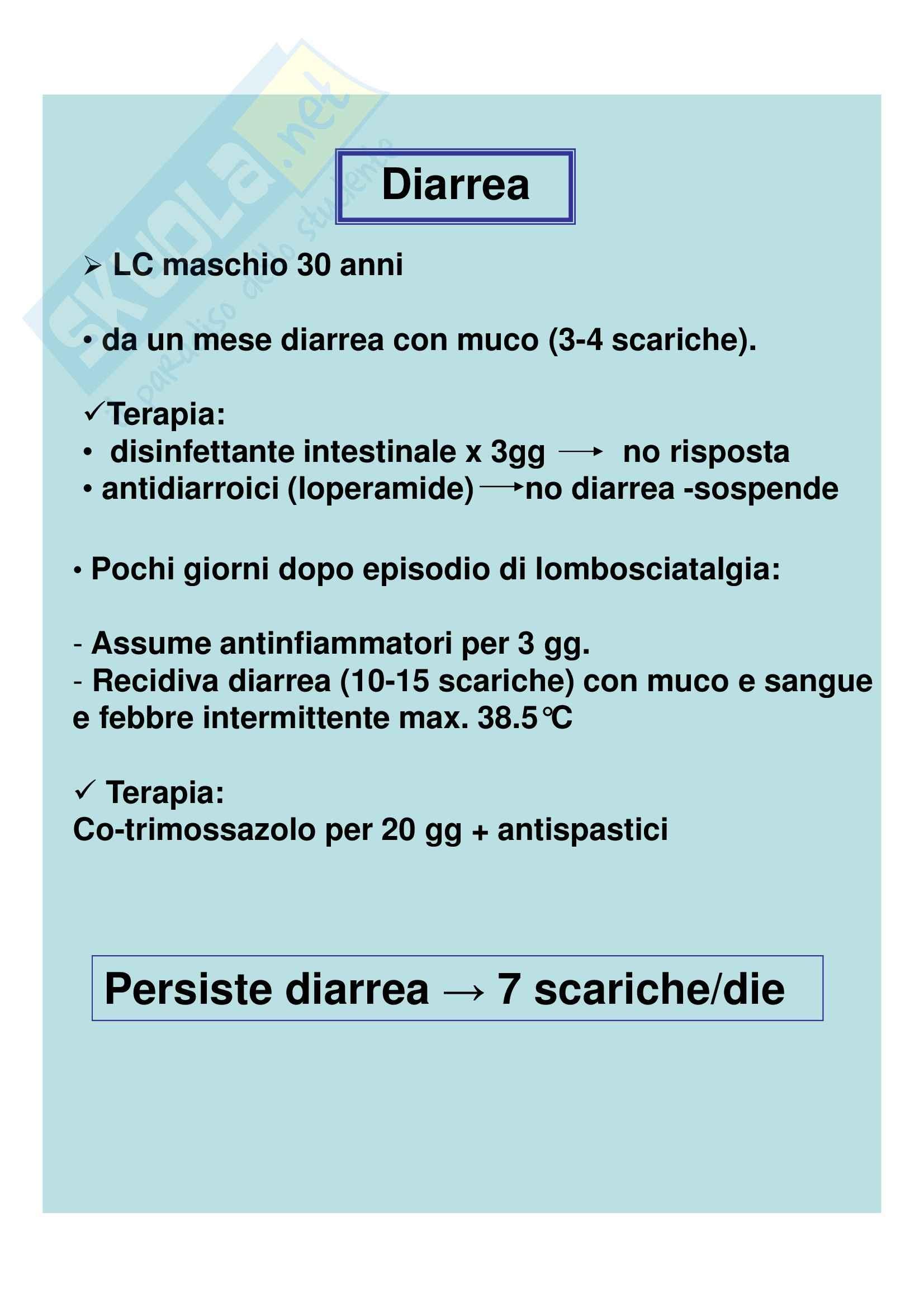 Medicina interna - diarrea cronica