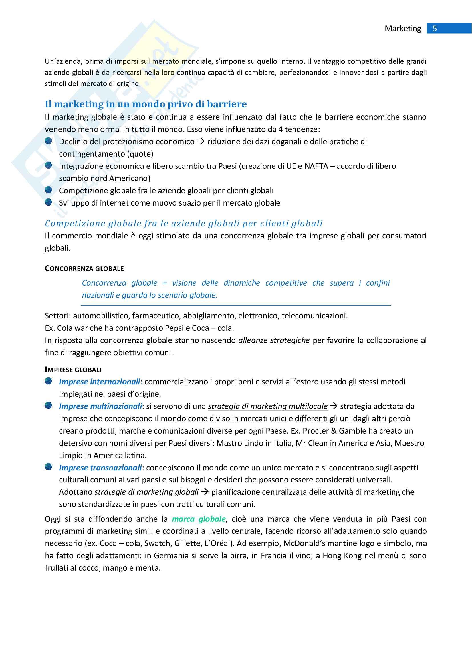 Riassunto Marketing esame marketing prof.Pellegrini Pag. 16