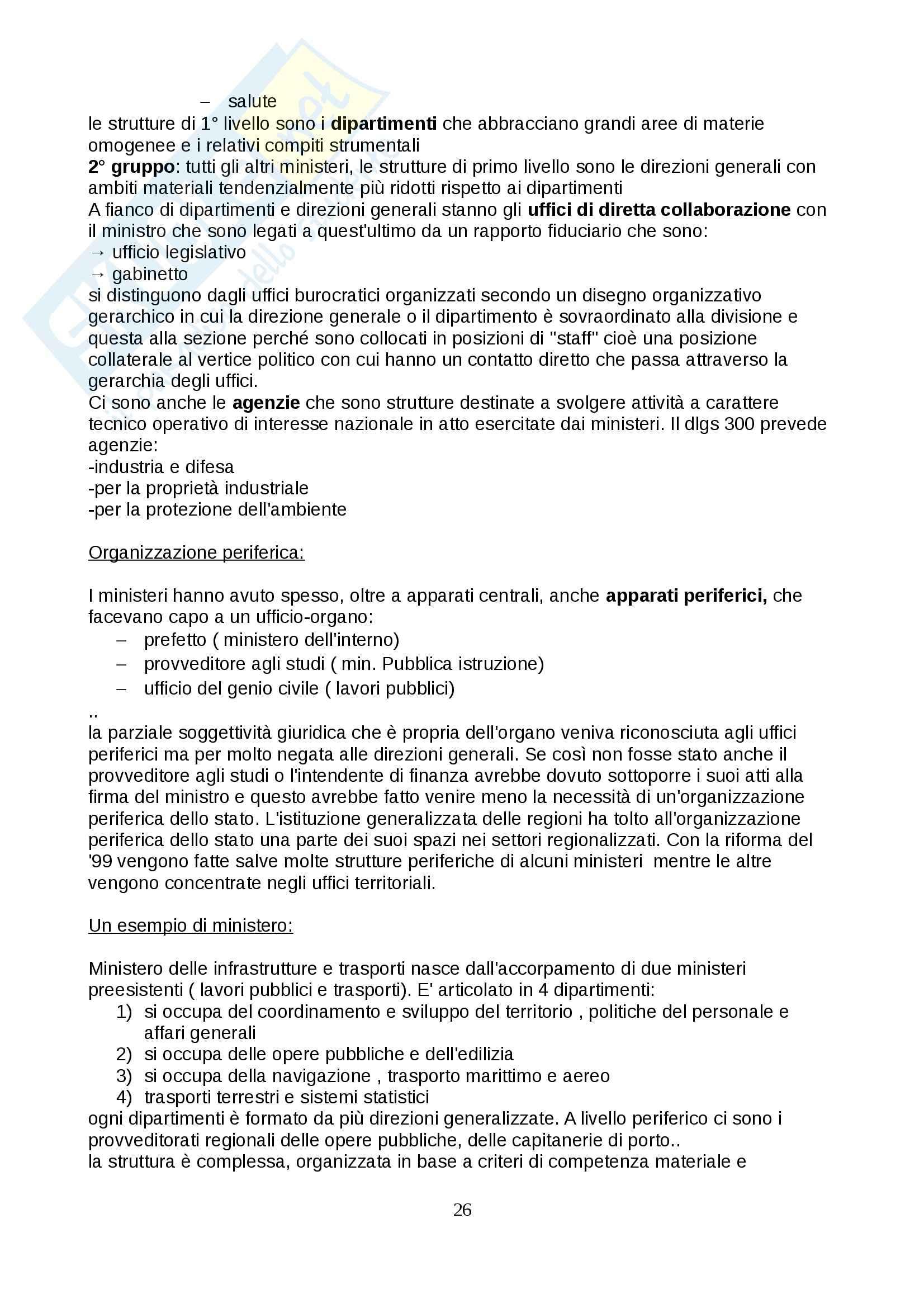 Lezioni, Diritto amministrativo Pag. 26