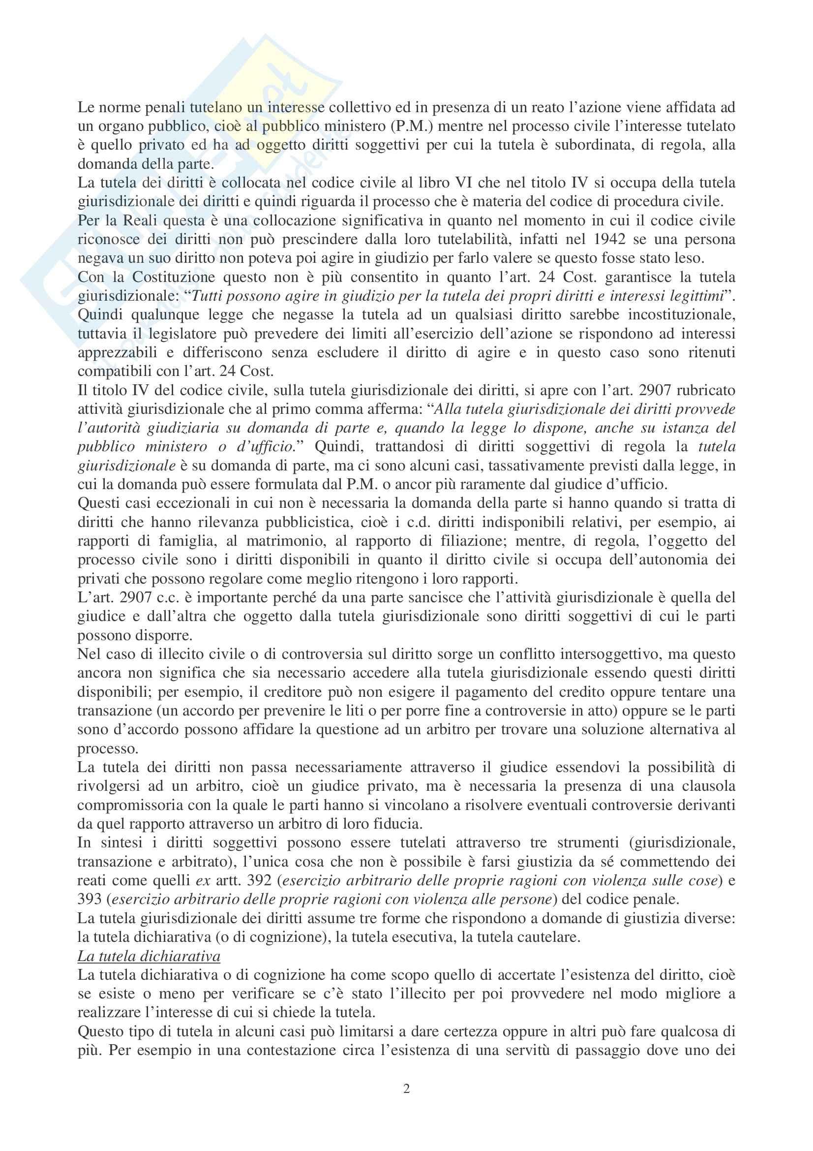 Diritto Processuale Civile Pag. 2