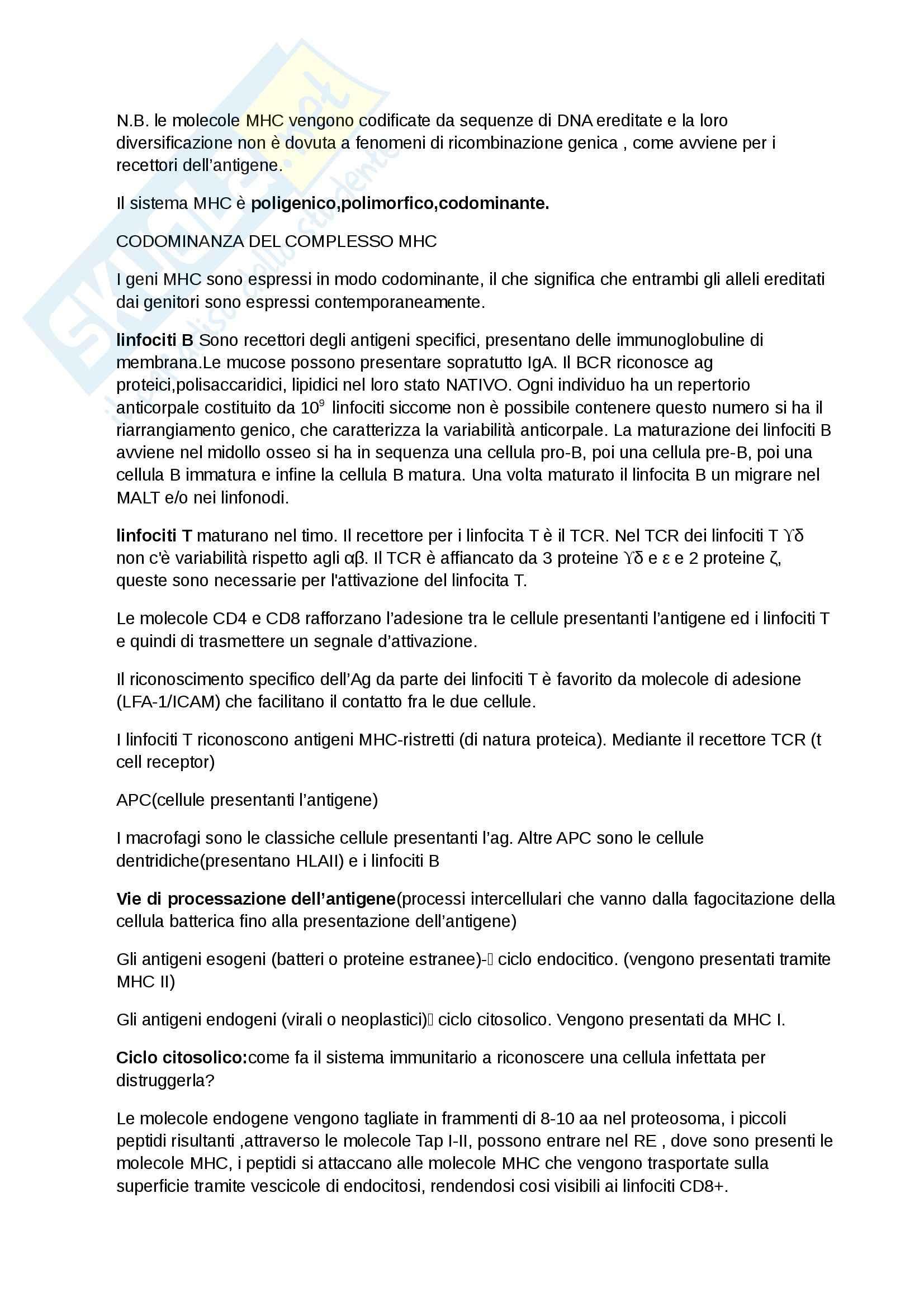 Patologia Generale ed Immunologia Per le Professioni Sanitarie (Infermieristica, TLB, dietistica, TSRM) Pag. 16