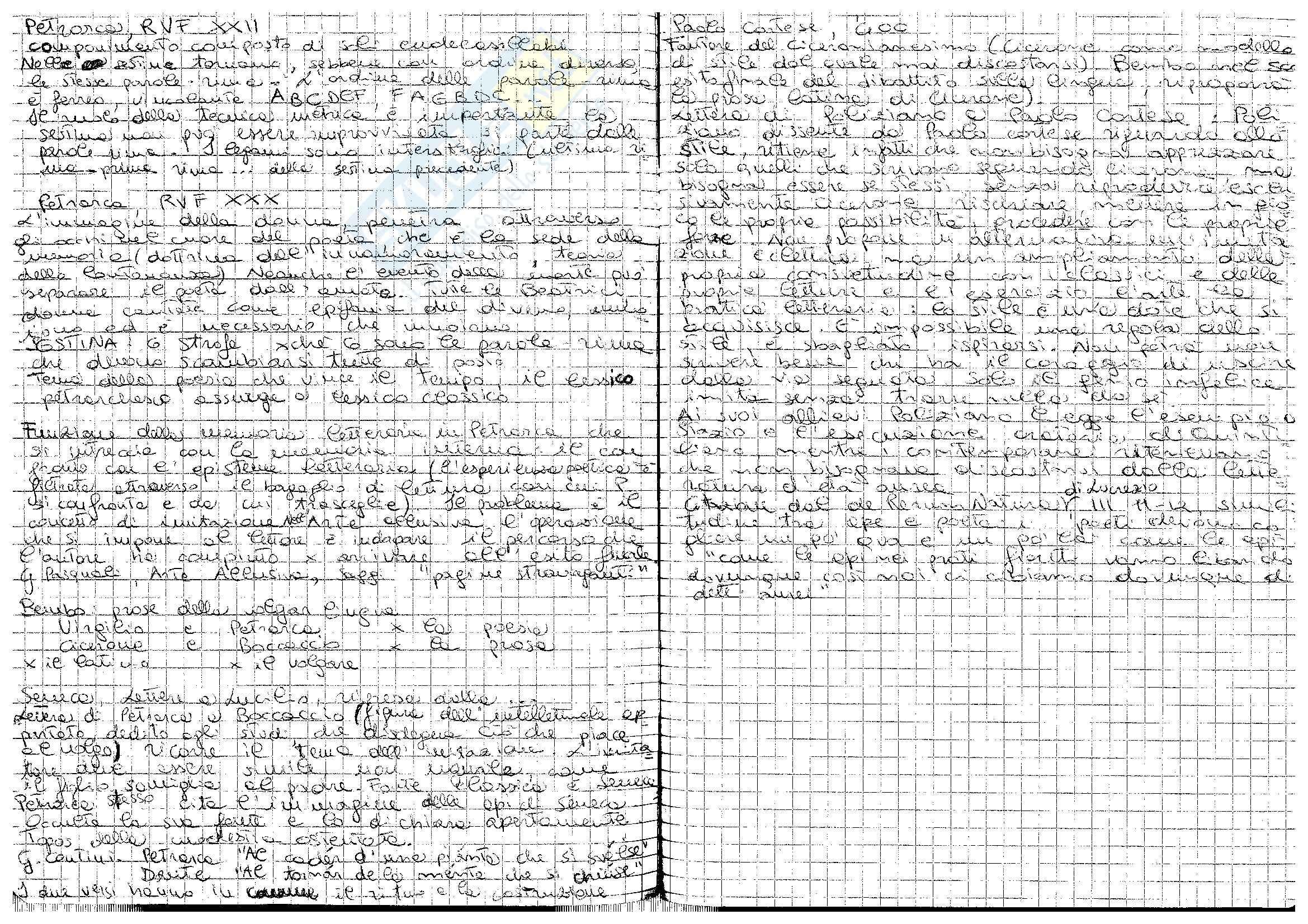 Lettera di Poliziano a Paolo Cortese