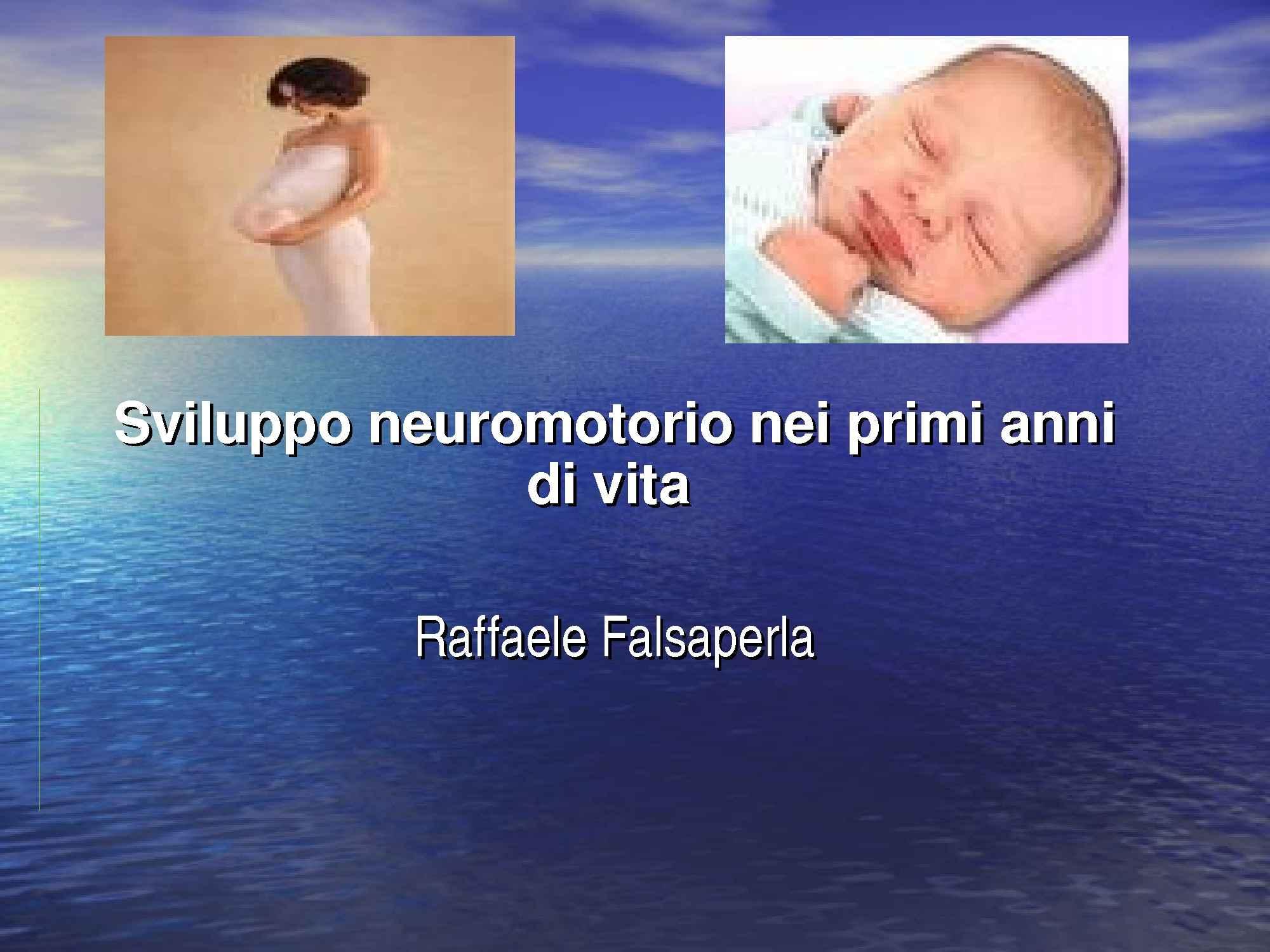 Sviluppo neuromotorio
