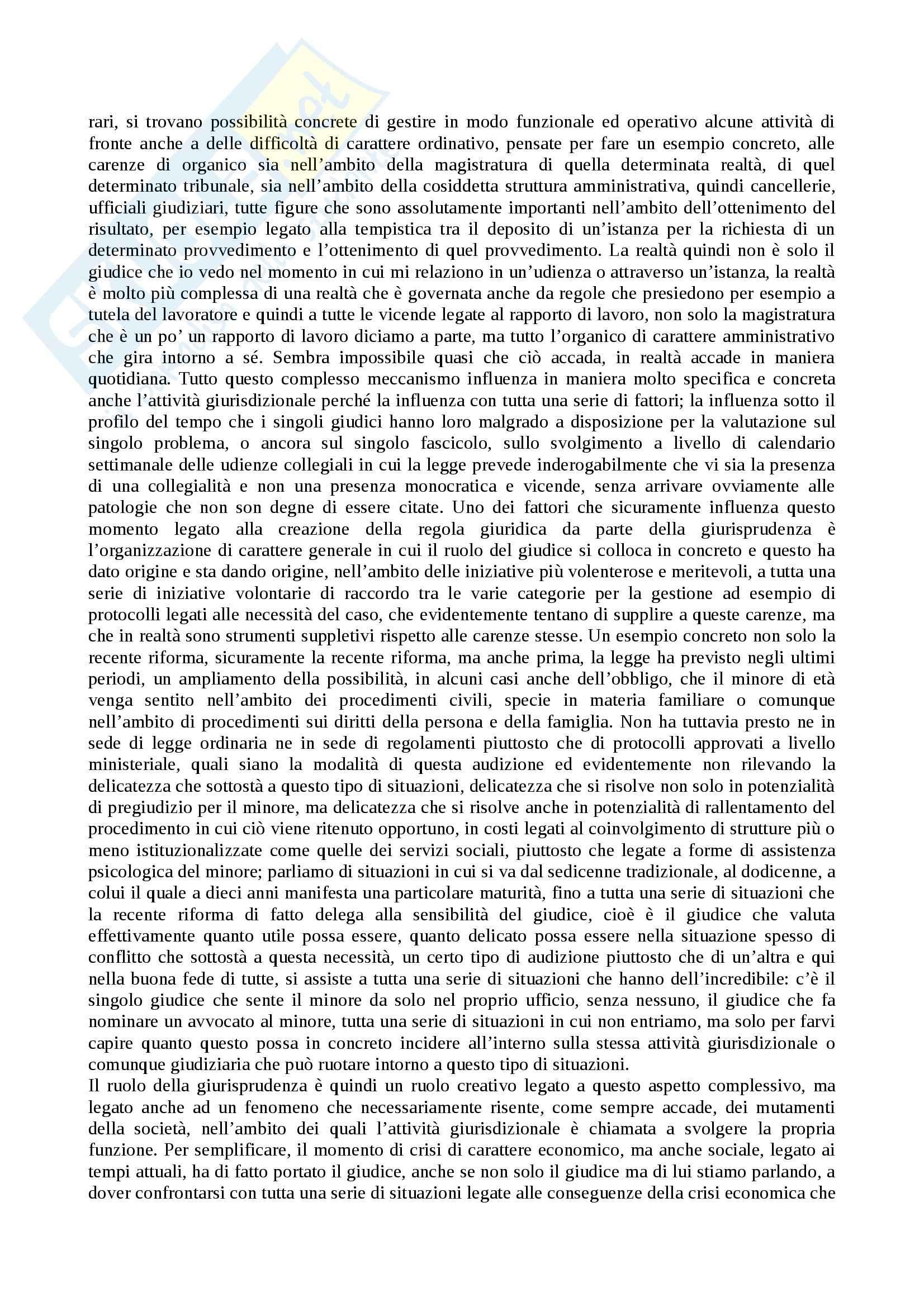 Funzioni del diritto privato comparato, Diritto privato comparato Pag. 6