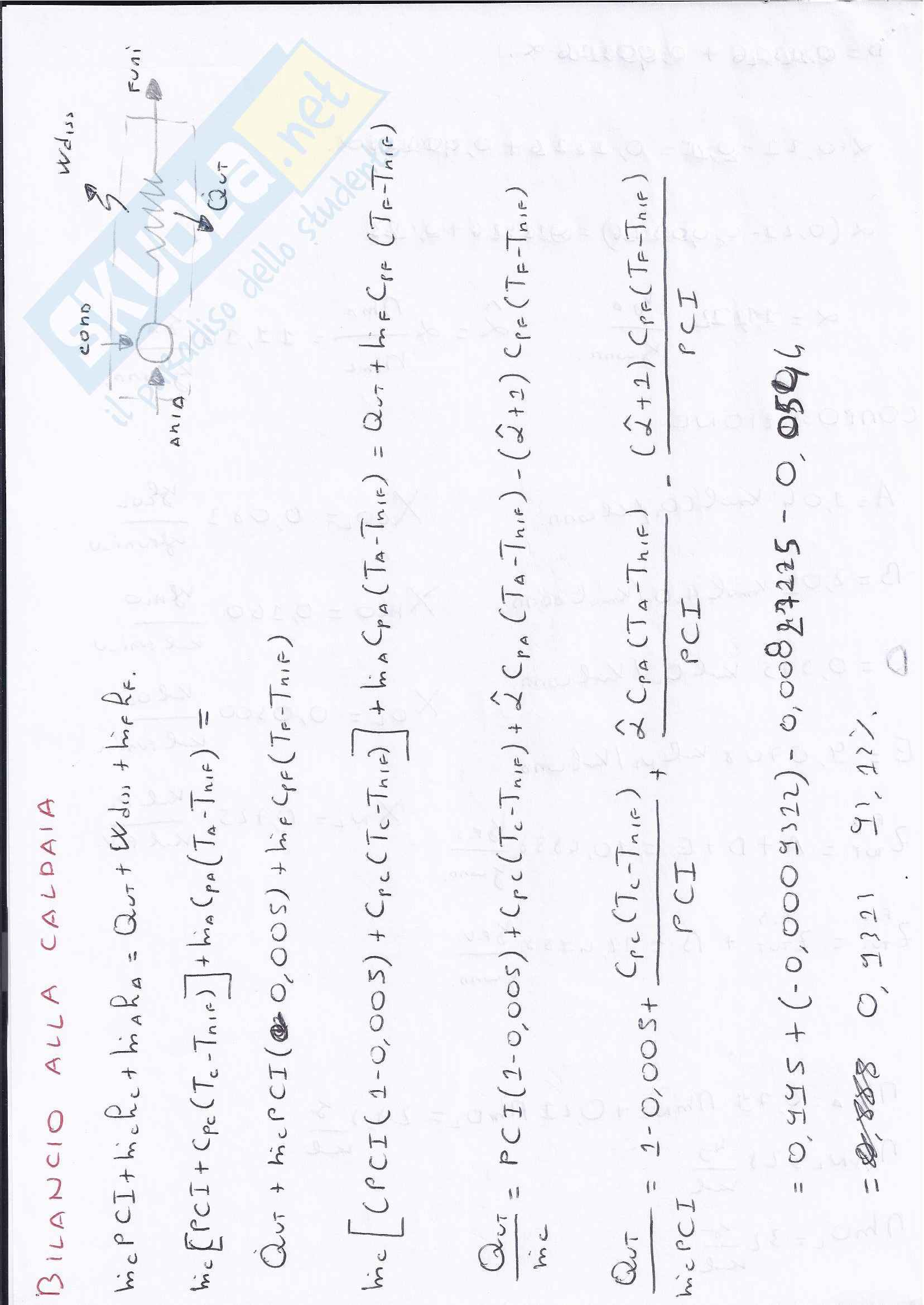 Sistemi energetici - esame giugno 2011 Pag. 6