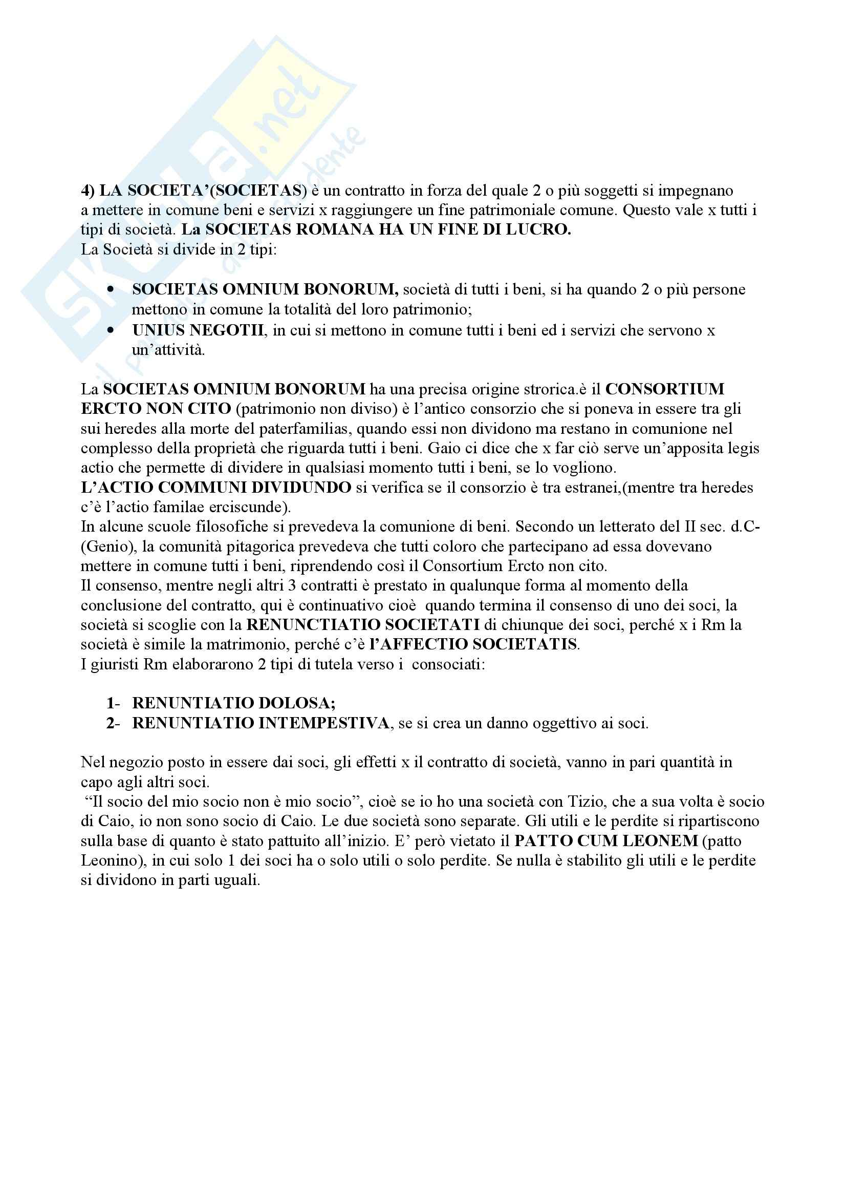 Diritto romano - il processo formulare Pag. 16
