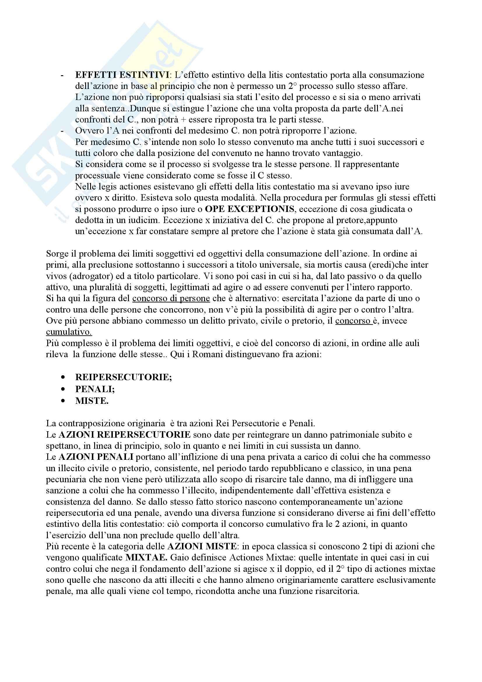Diritto romano - il processo formulare Pag. 6