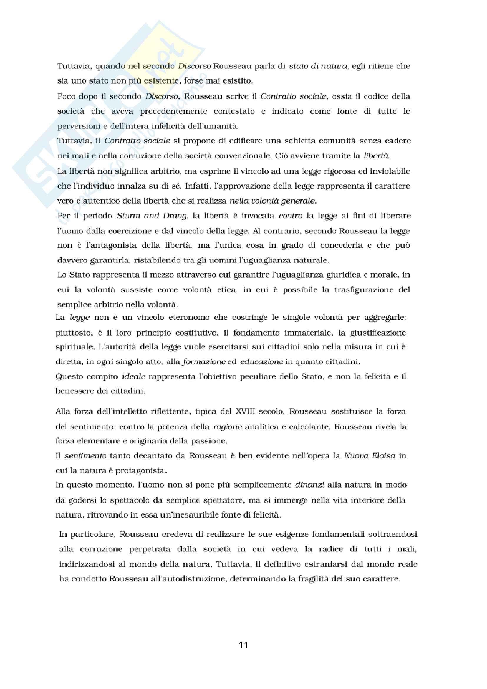 Illuminismo e Rousseau - Mappe concettuali Pag. 11