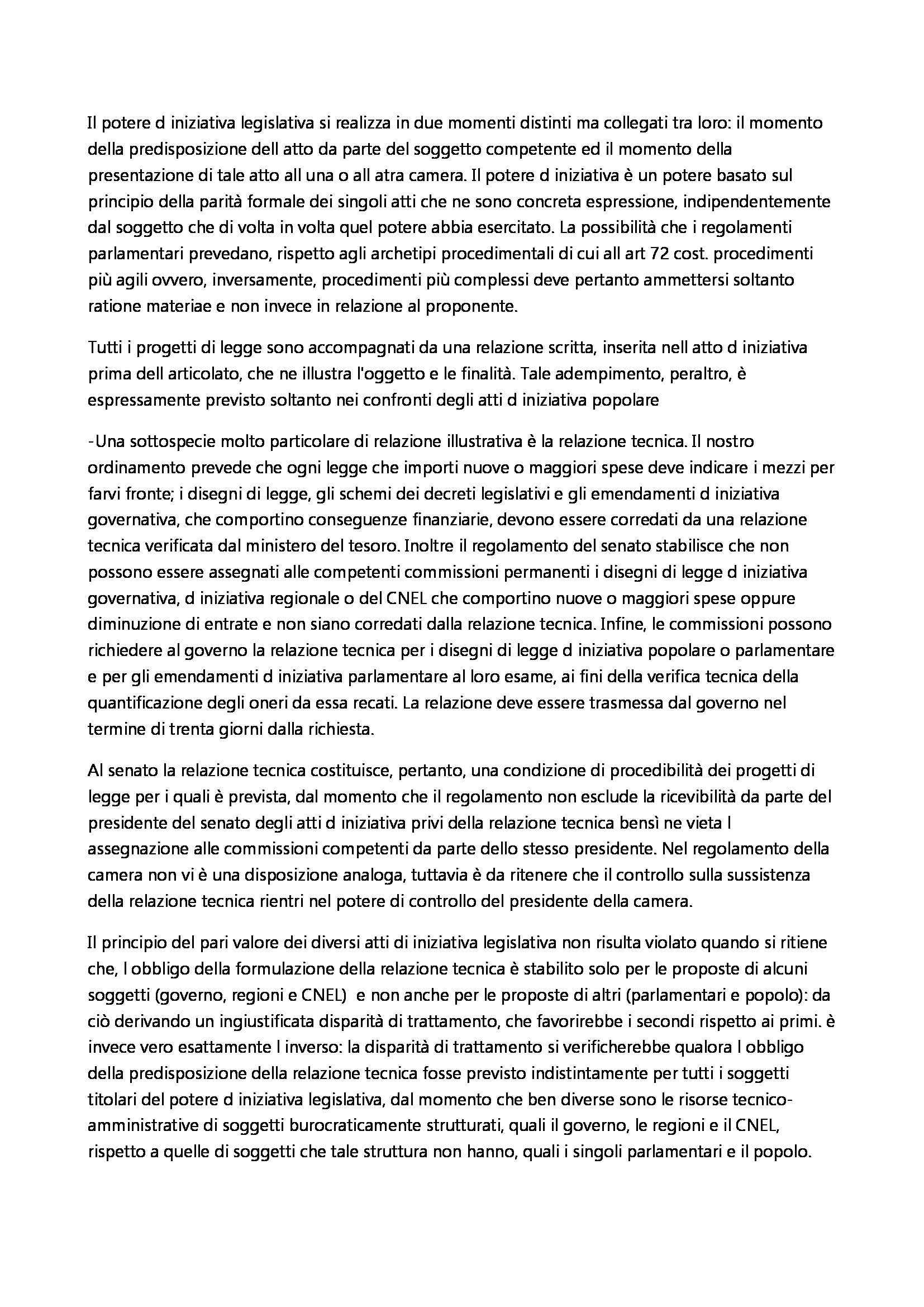 Diritto Costituzionale - Appunti Pag. 21
