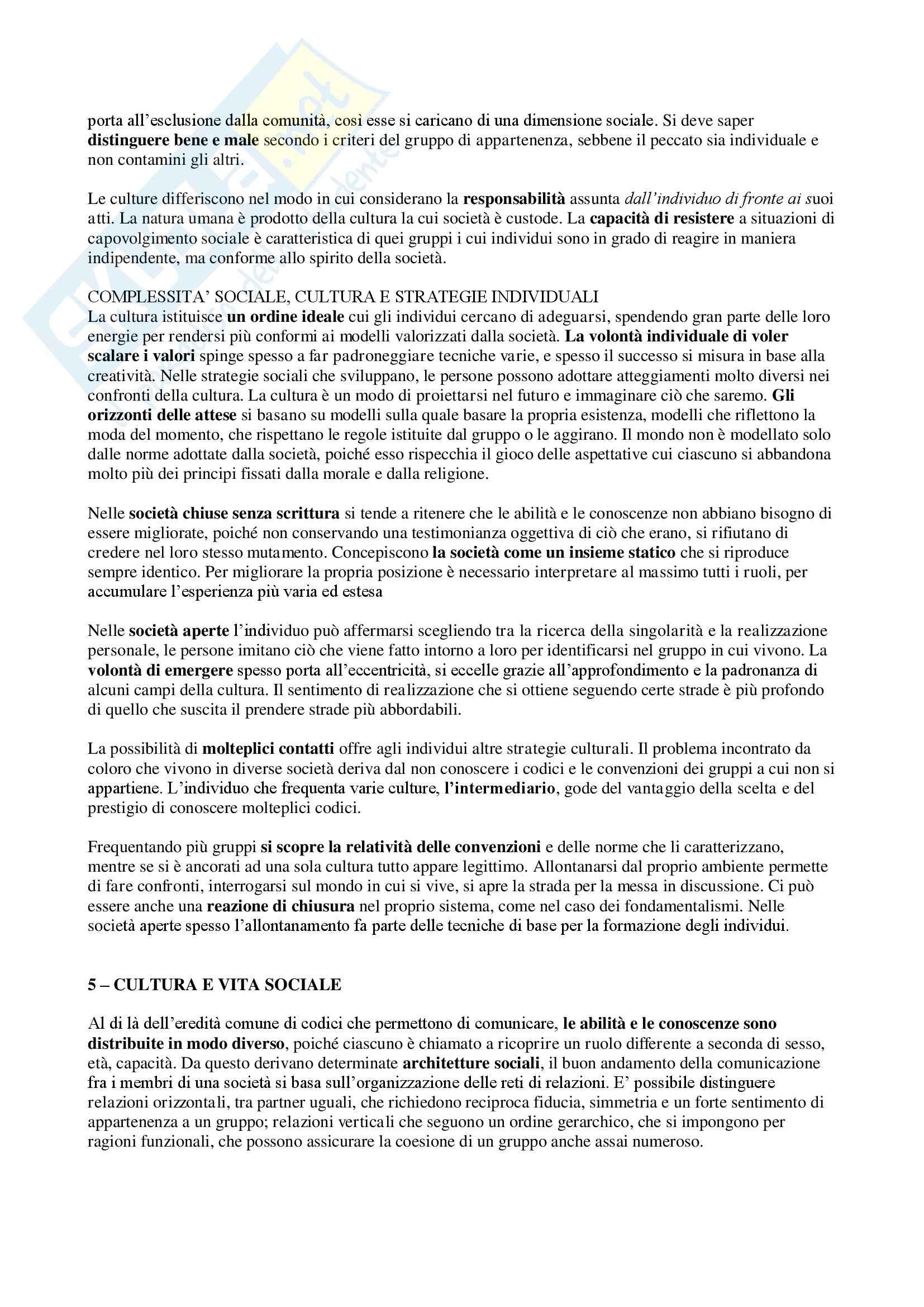 Riassunto esame Geografia culturale, prof. Da Pozzo, libro consigliato La Geografia Culturale, Claval Pag. 6