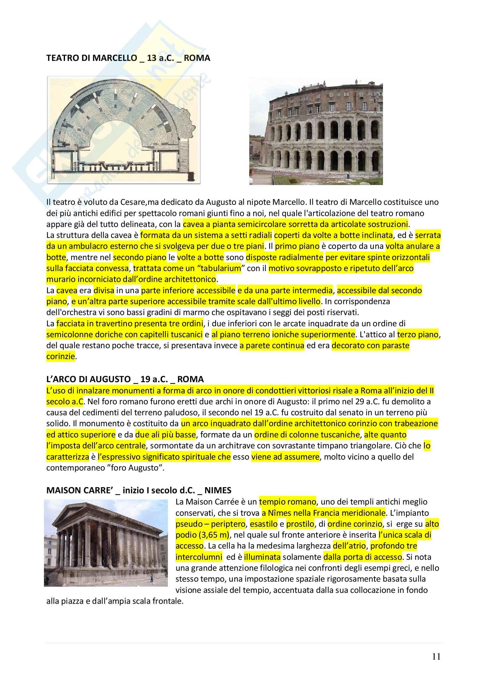 Appunti completi Storia dell'architettura 1+ Immagini Pag. 11