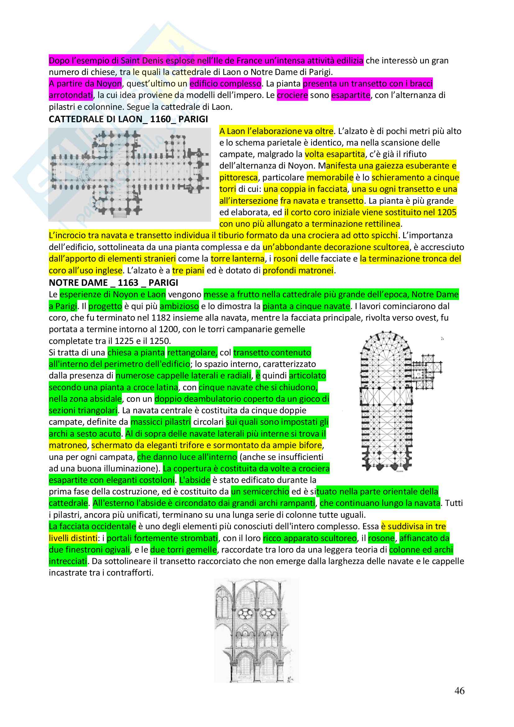 Appunti completi Storia dell'architettura 1+ Immagini Pag. 46