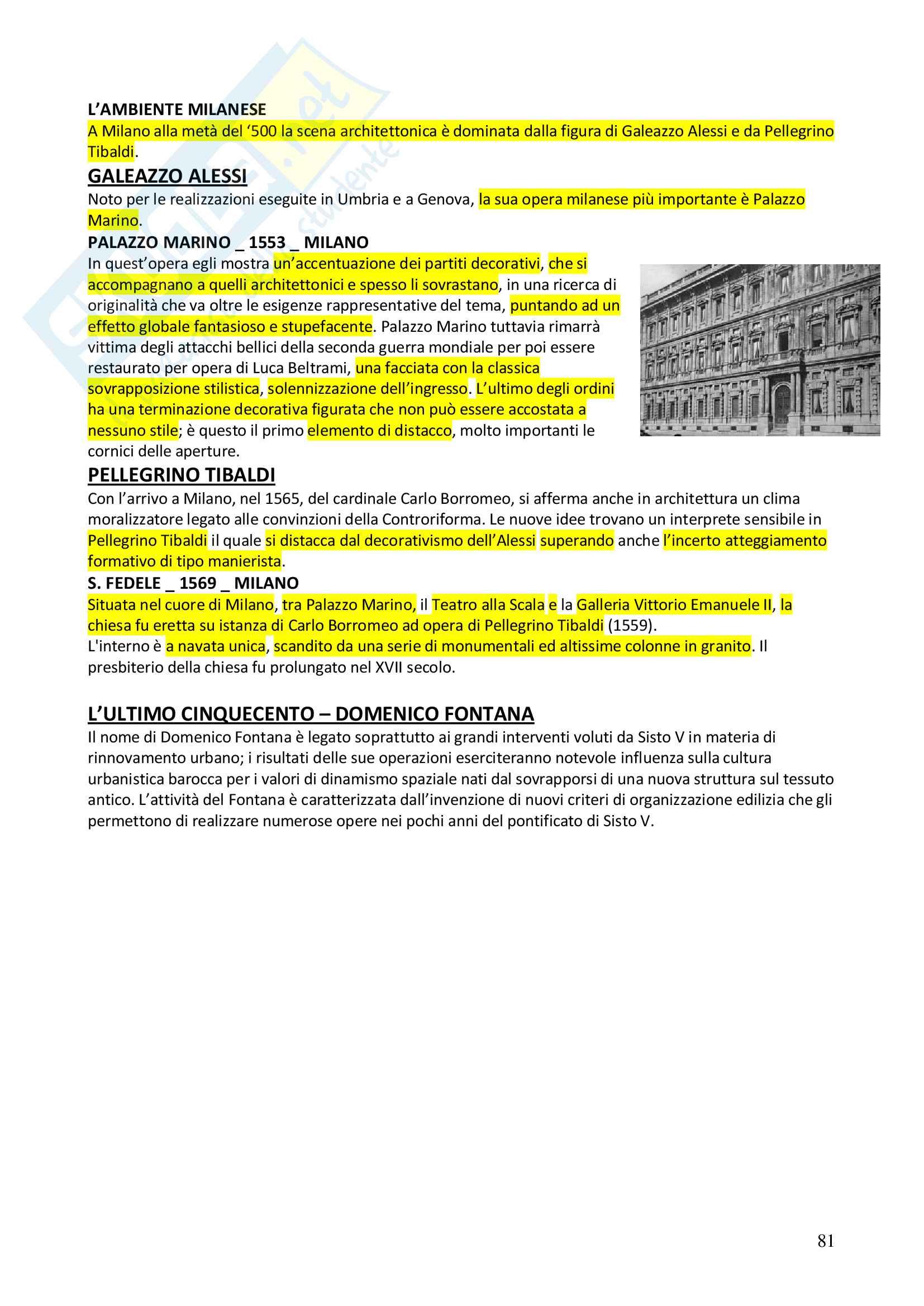 Appunti completi Storia dell'architettura 1+ Immagini Pag. 81