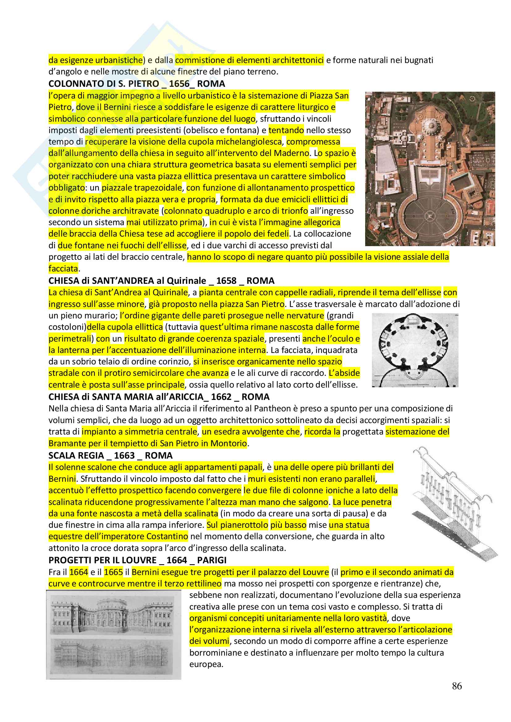 Appunti completi Storia dell'architettura 1+ Immagini Pag. 86