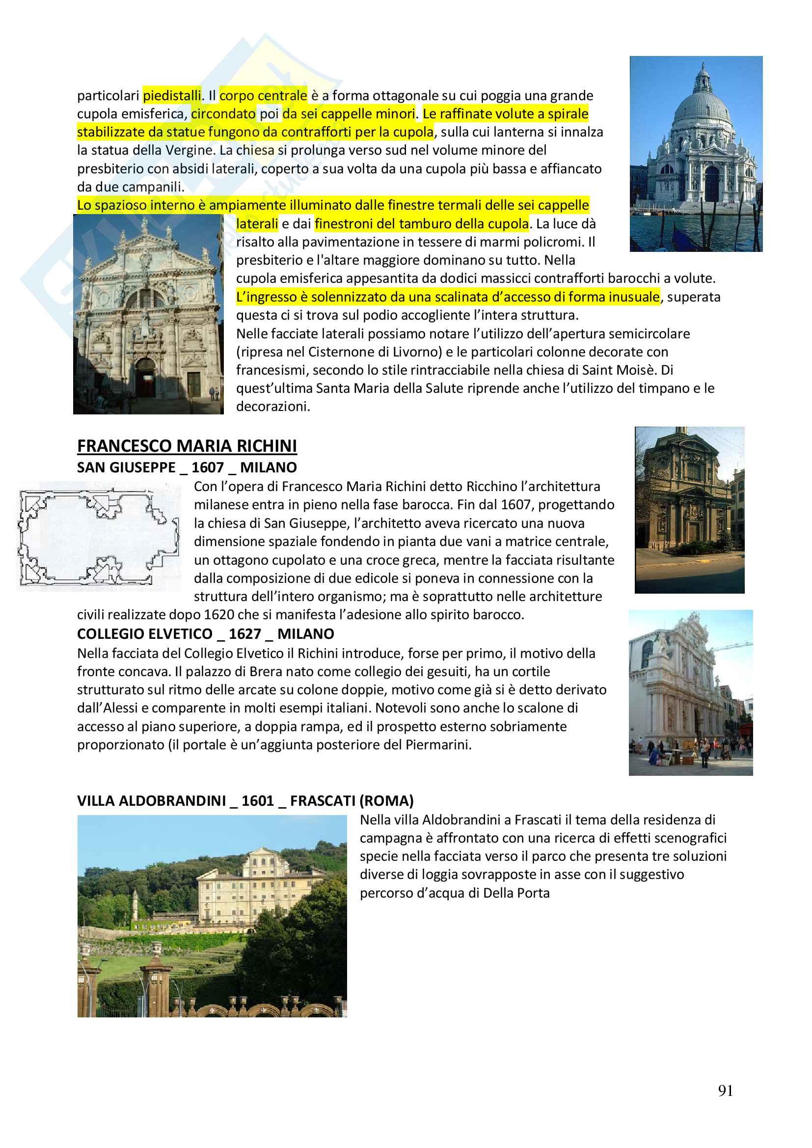 Appunti completi Storia dell'architettura 1+ Immagini Pag. 91