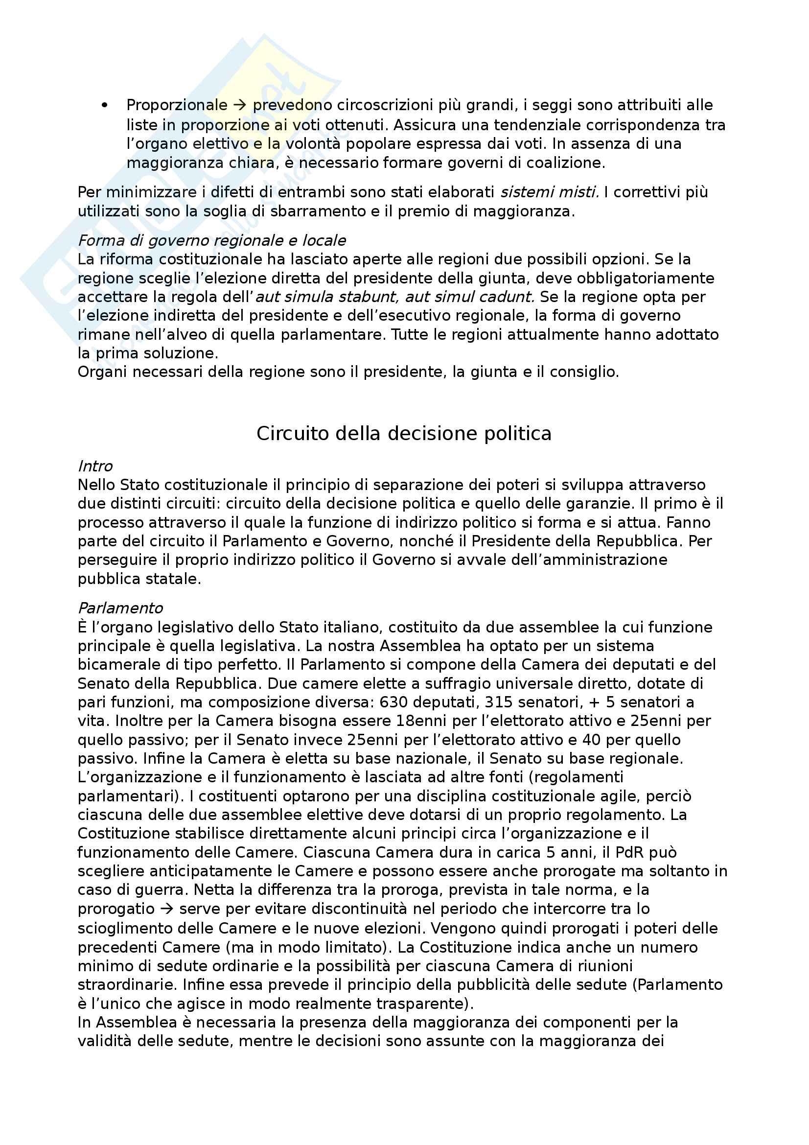 Riassunto esame Diritto pubblico, prof. Simonati_Anna, libro consigliato: Introduzione allo studio del diritto pubblico e delle sue fonti, Simoncini Pag. 36