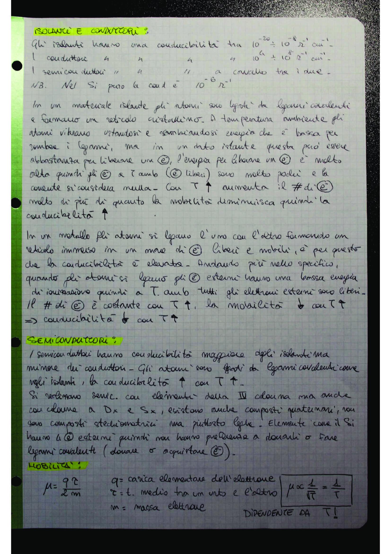 Appunti e dimostrazioni di Elettronica generale Pag. 1