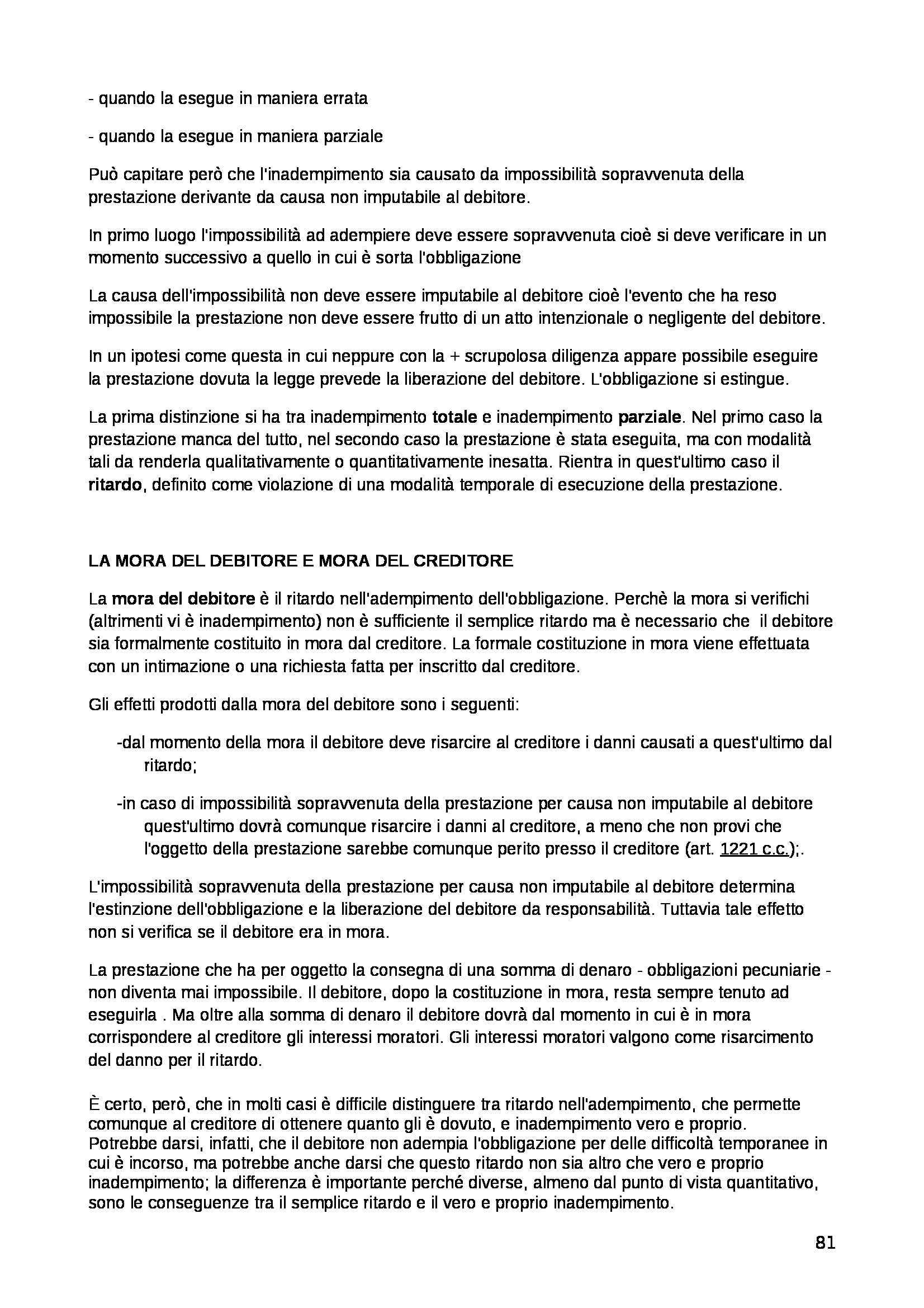 Diritto privato - Appunti Pag. 81