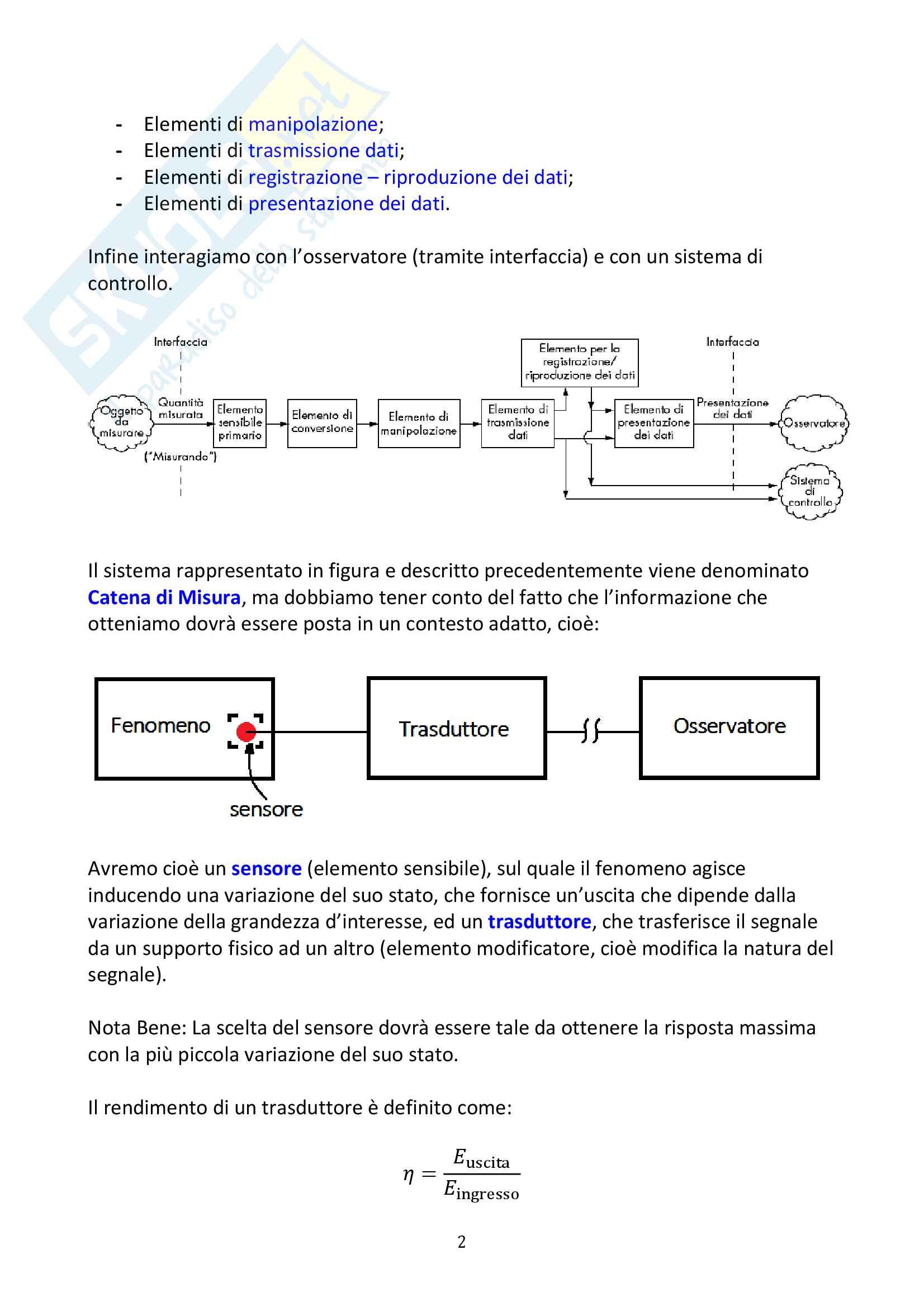 Misure Meccaniche e Collaudi Pag. 2