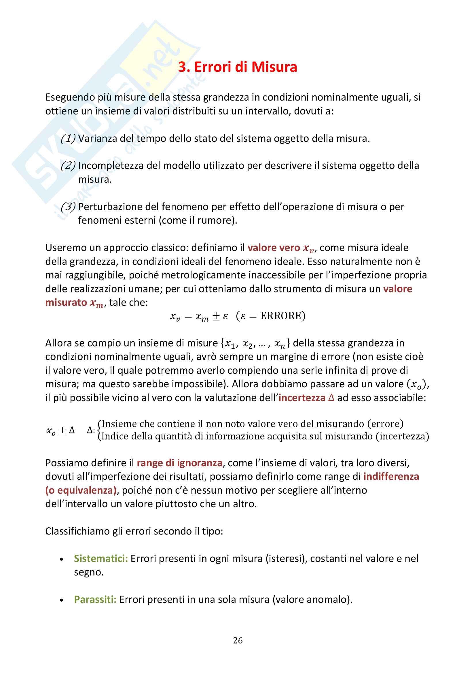 Misure Meccaniche e Collaudi Pag. 26