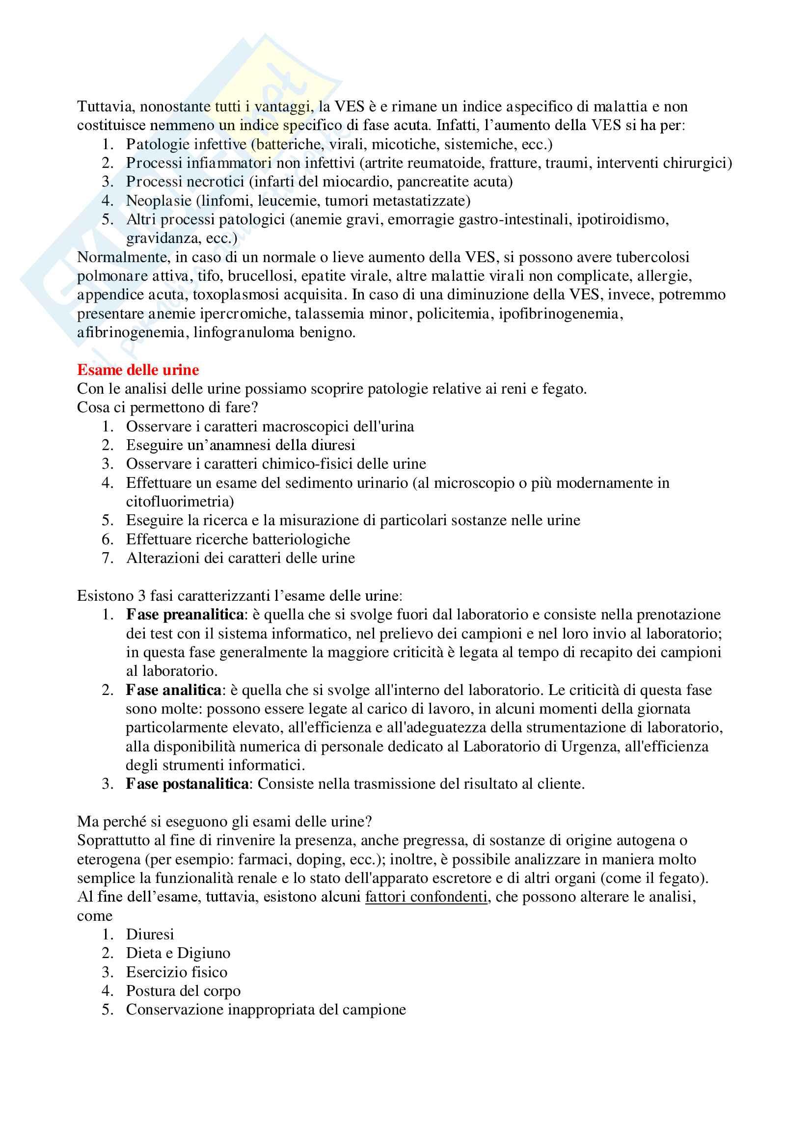 Patologia Clinica - Appunti Completi Pag. 11
