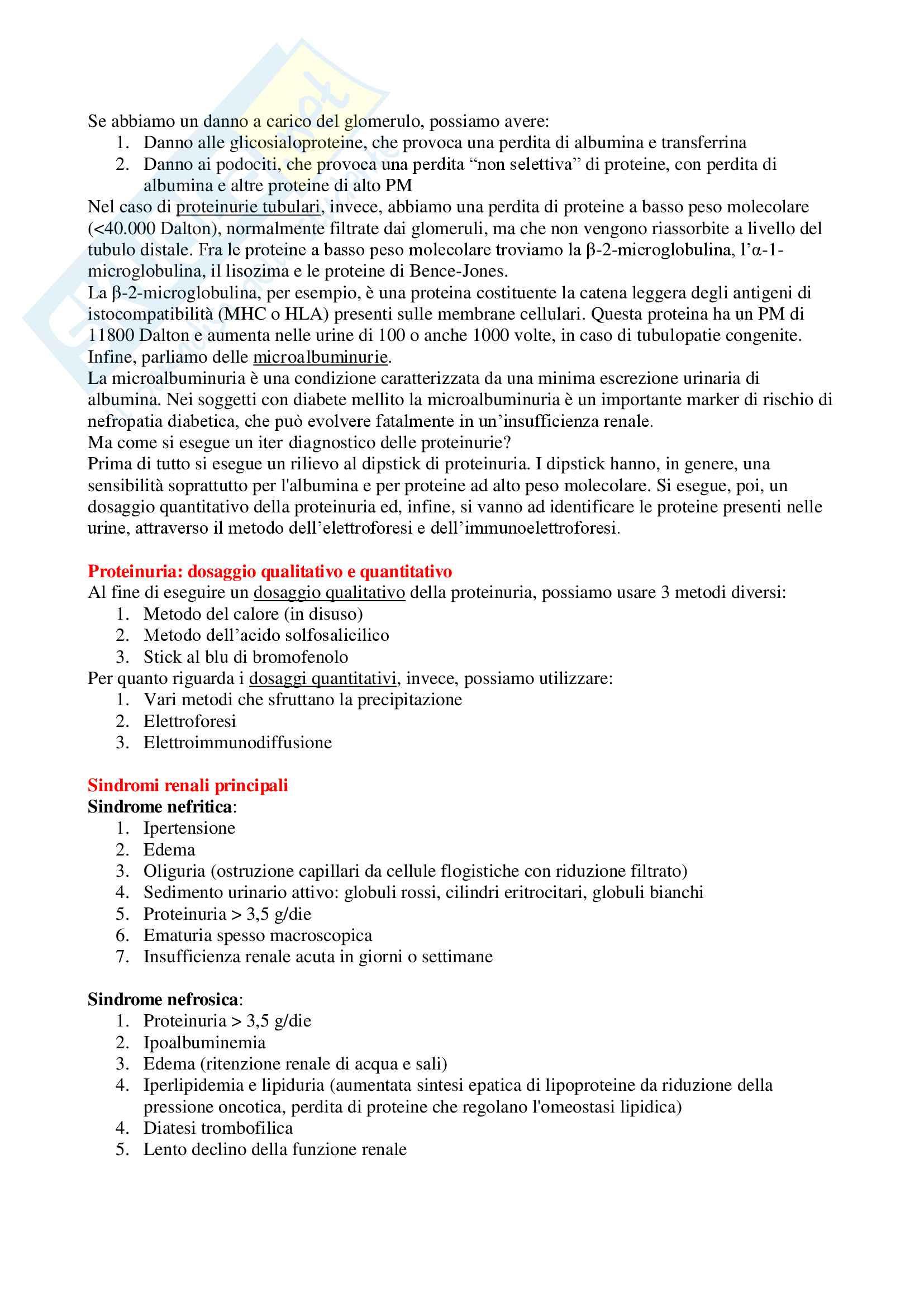 Patologia Clinica - Appunti Completi Pag. 16