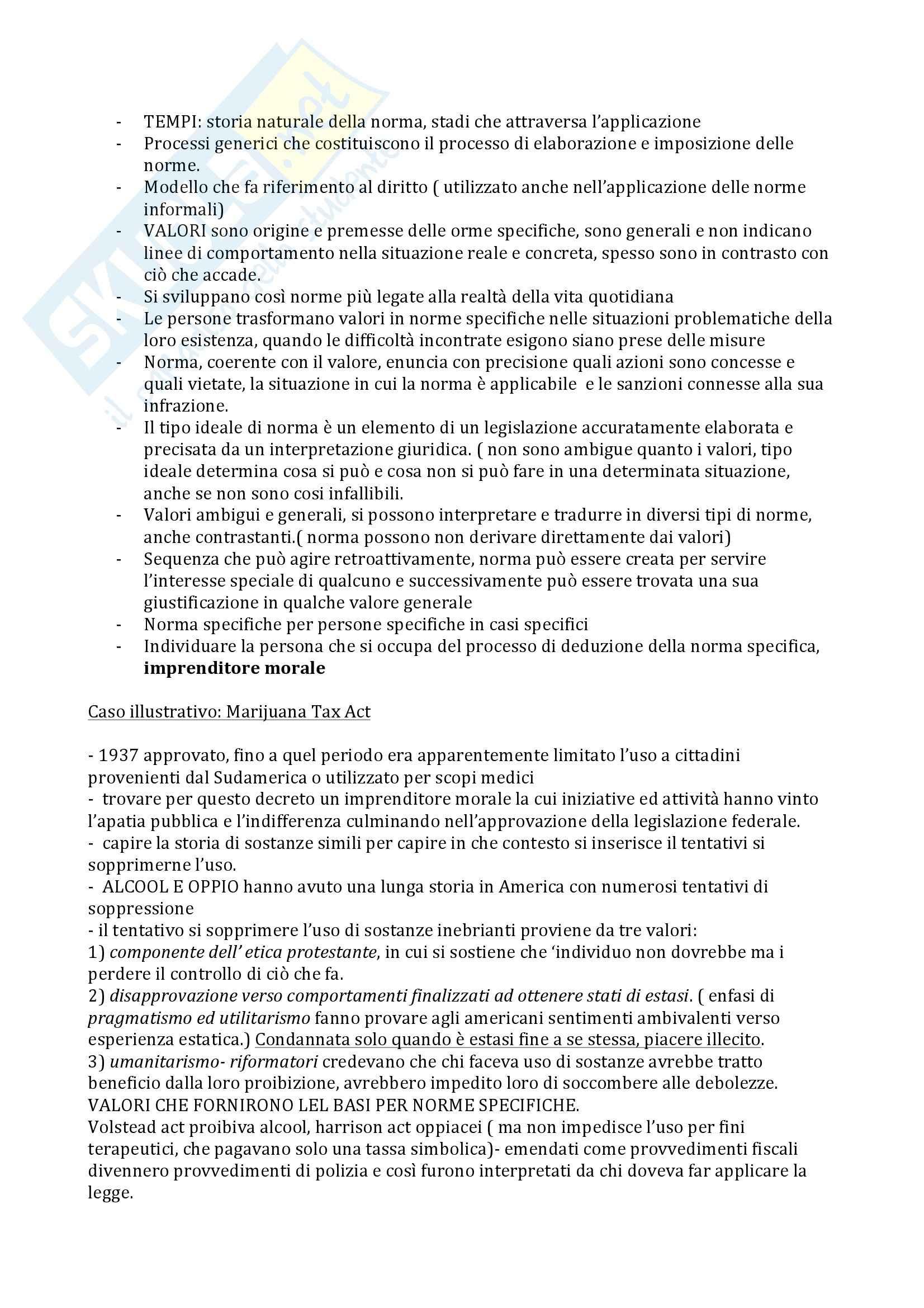 Sociologia della devianza - Becker Pag. 16
