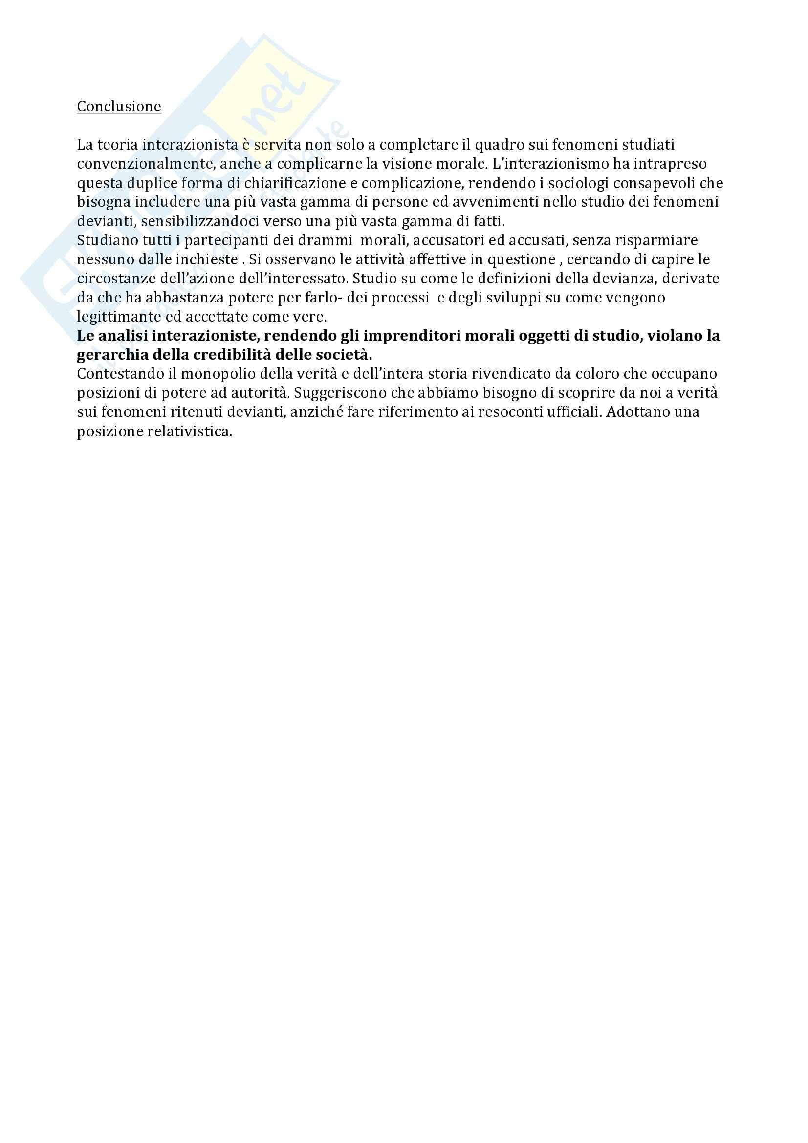 Sociologia della devianza - Becker Pag. 26