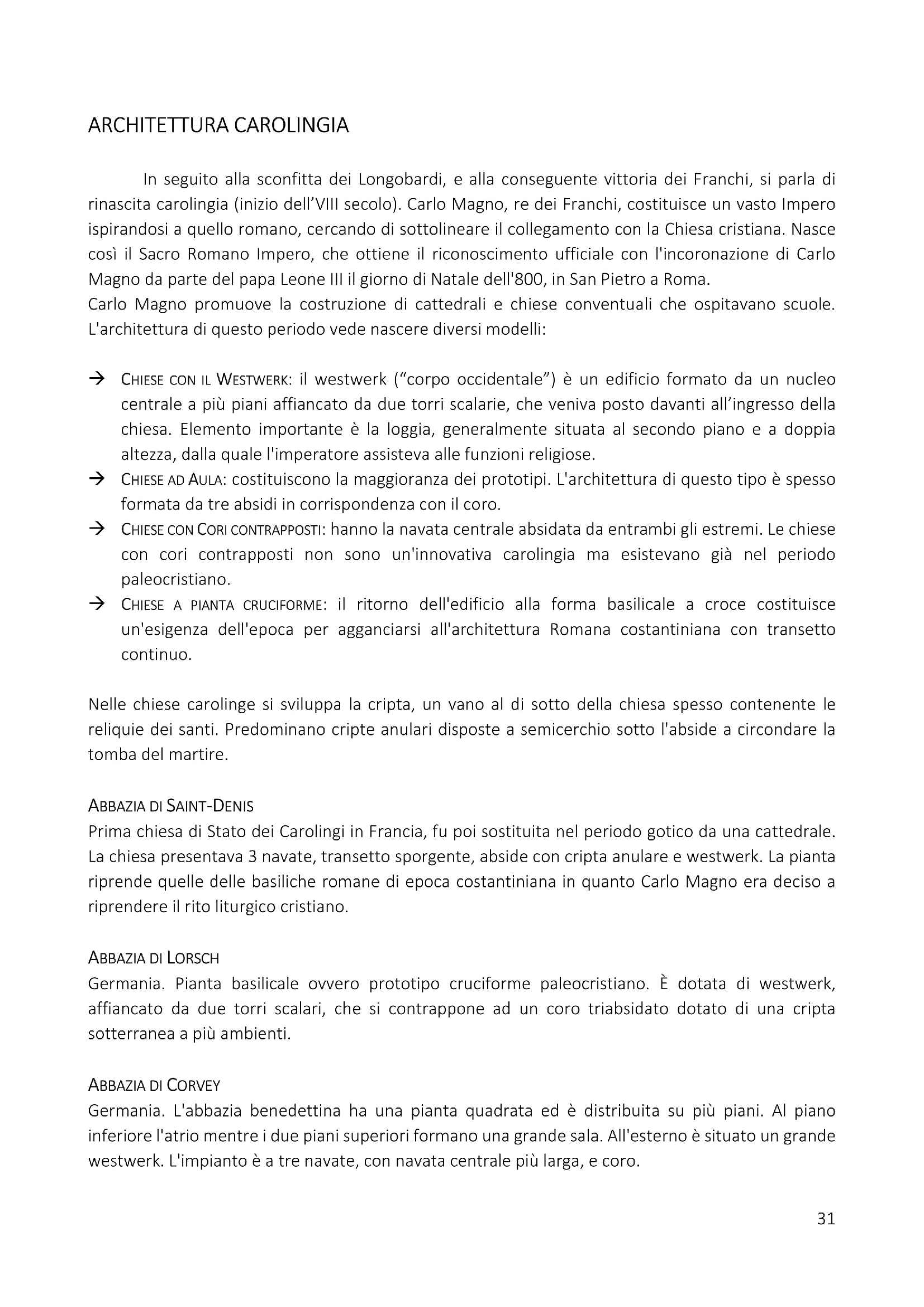 Riassunto del programma di storia dell'architettura ed estetica del prof. Dimitri Ticconi Pag. 31