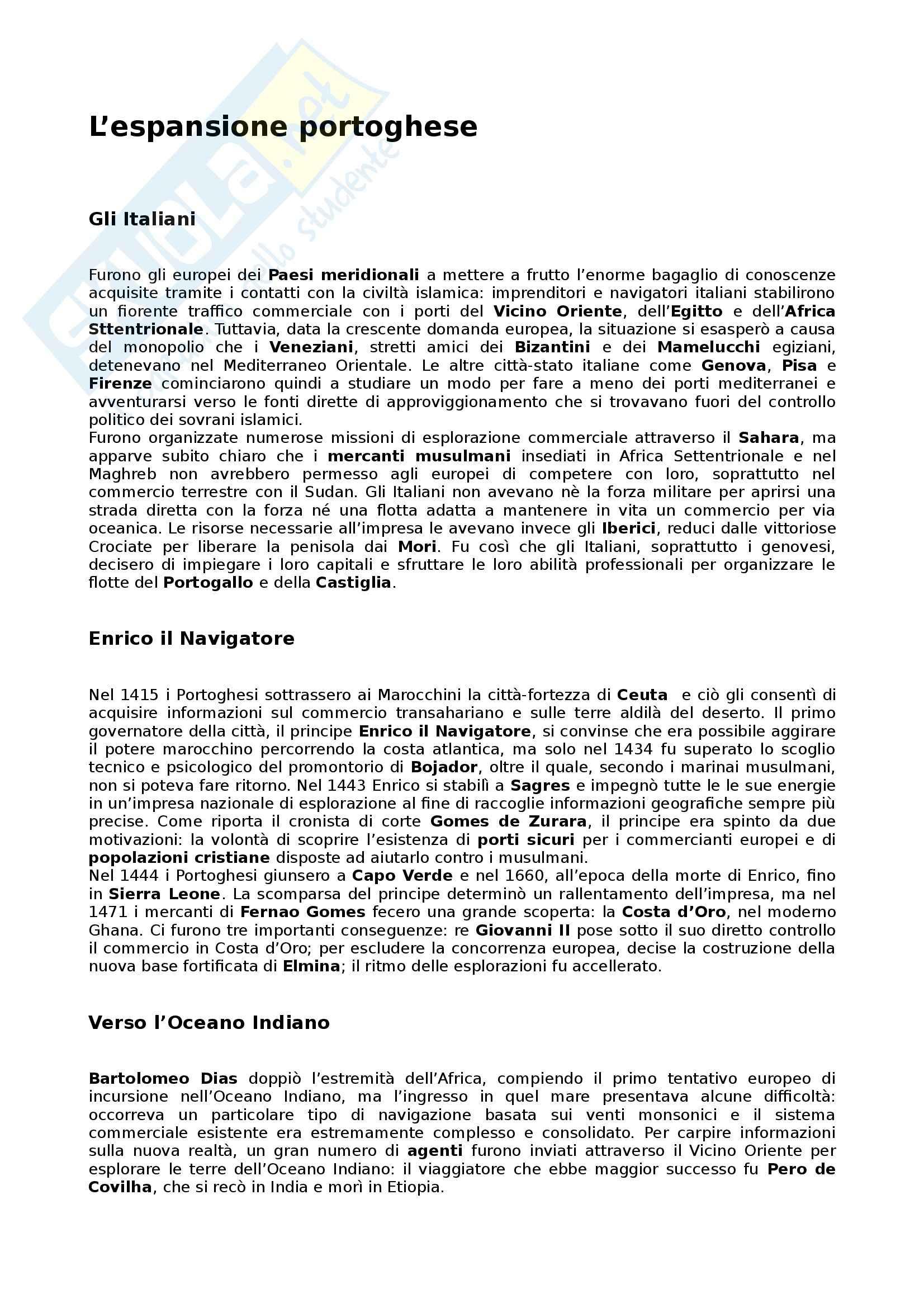 Riassunto esame Storia e Istituzioni dell'Africa, prof. Volterra, libro consigliato Storia dell'Africa, Fage