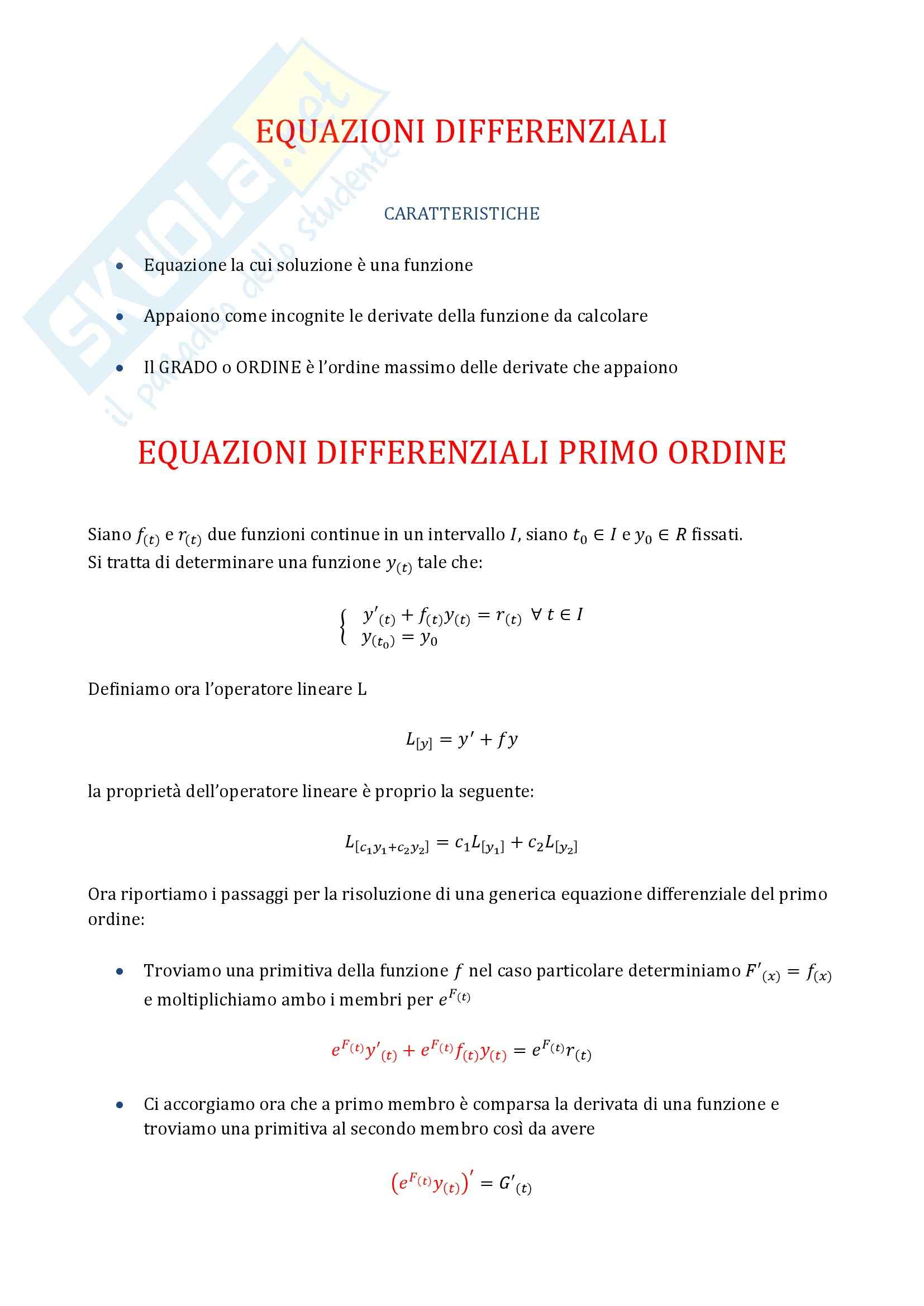appunto L. Bergamaschi Analisi matematica 1