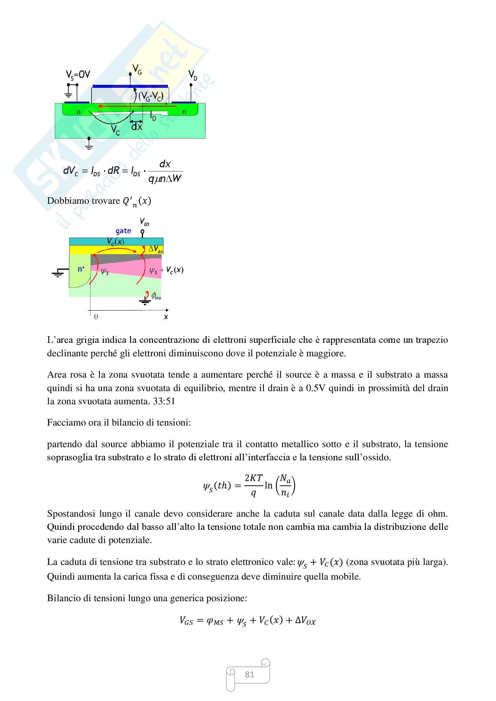 Appunti dispositivi elettronici Pag. 81