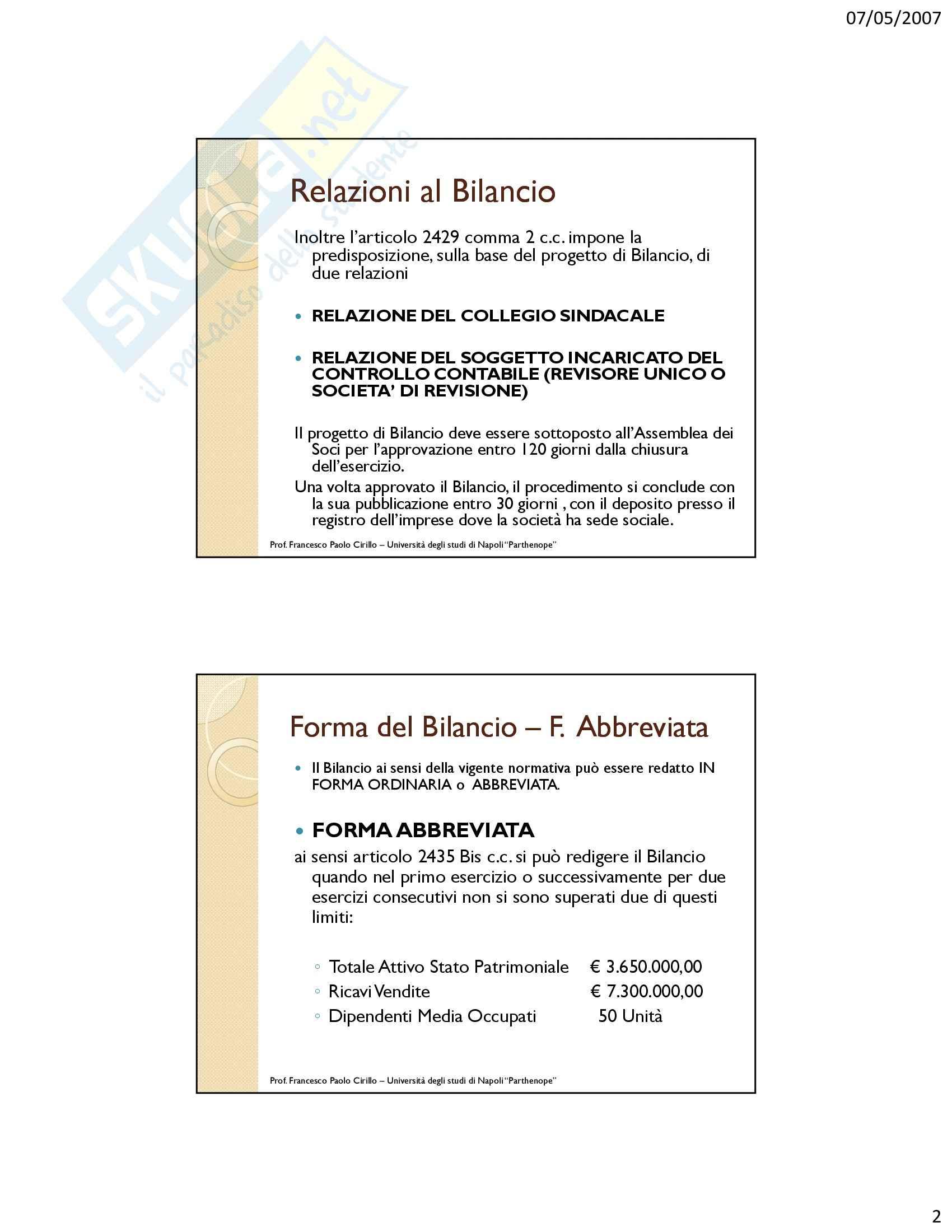 Ragioneria - immobilizzazioni immateriali e materiali - Appunti Pag. 2