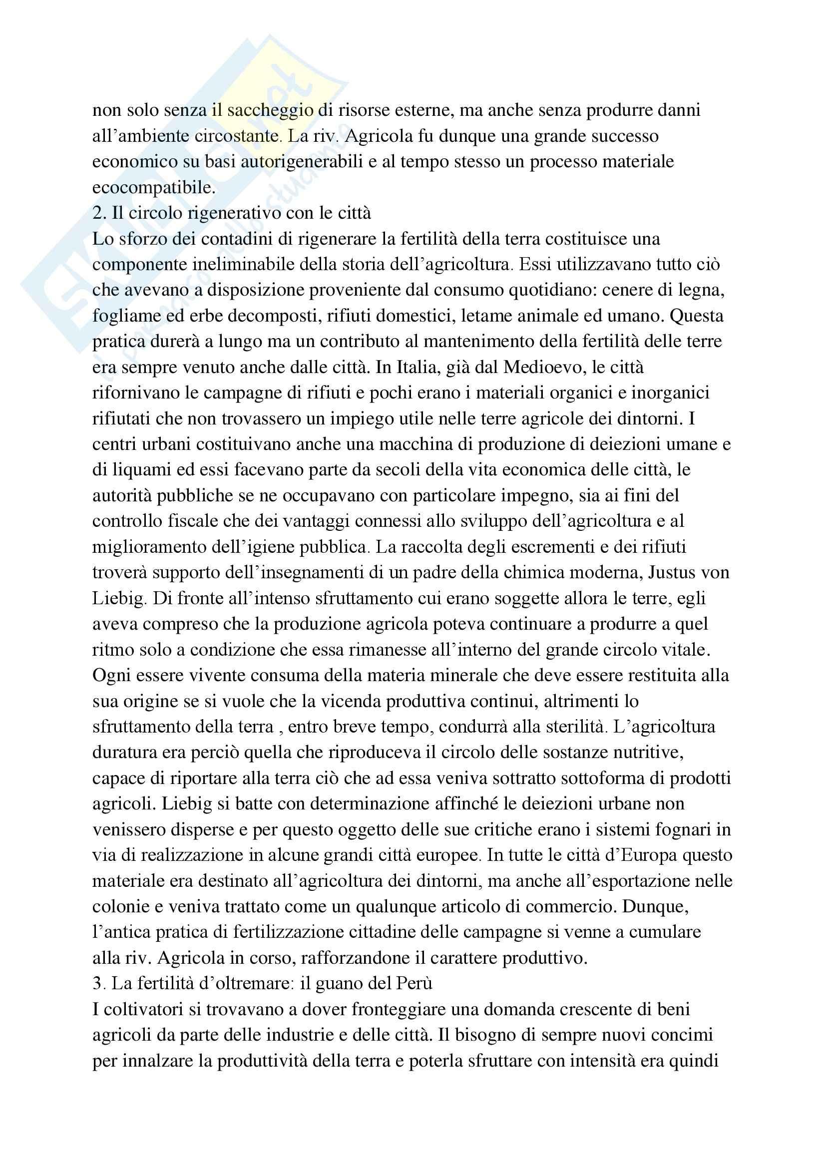 Riassunto esame Storia Contemporanea, prof. Bevilacqua, libro consigliato La Mucca è Savia Pag. 2