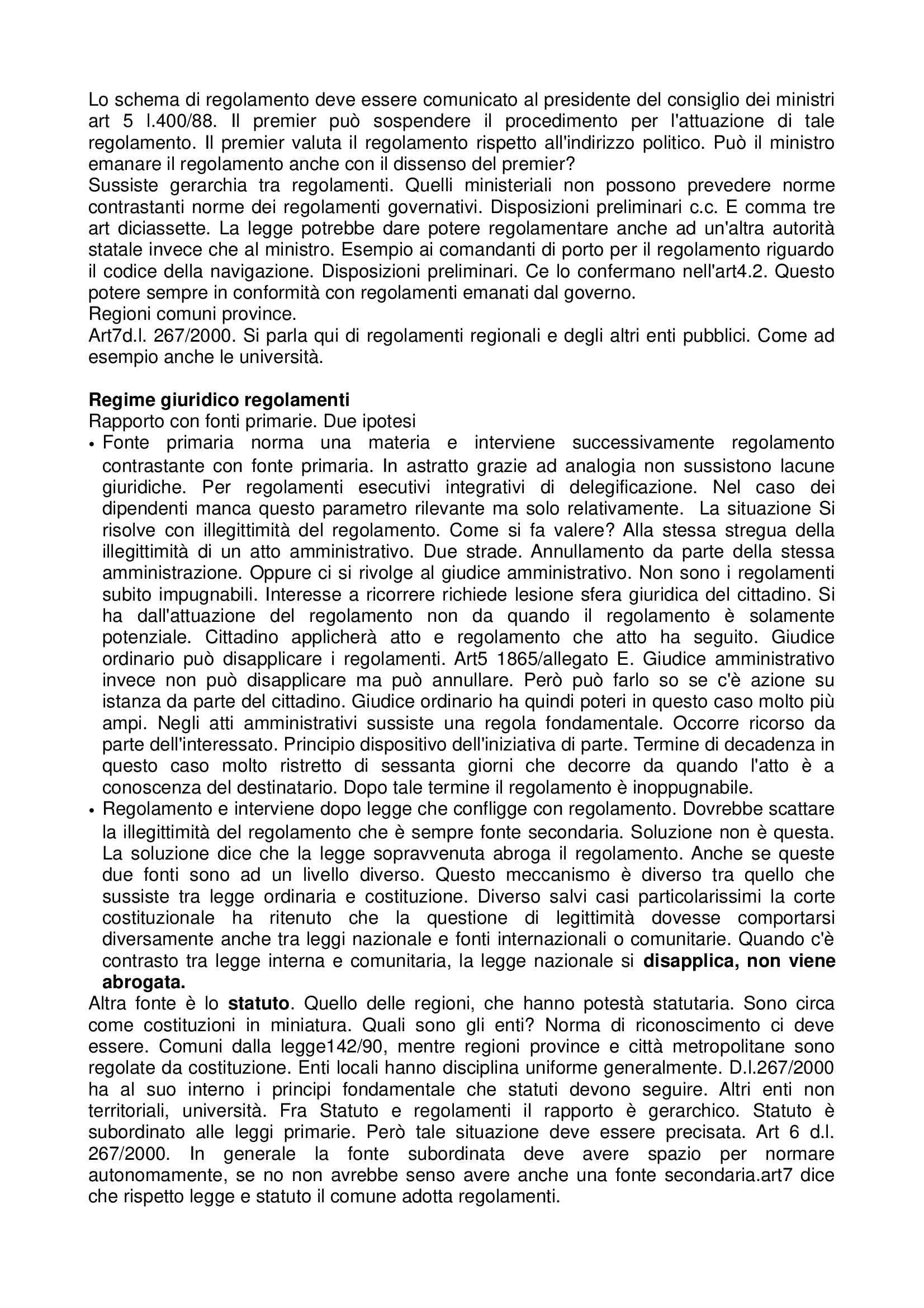 Diritto amministrativo - Appunti Pag. 21