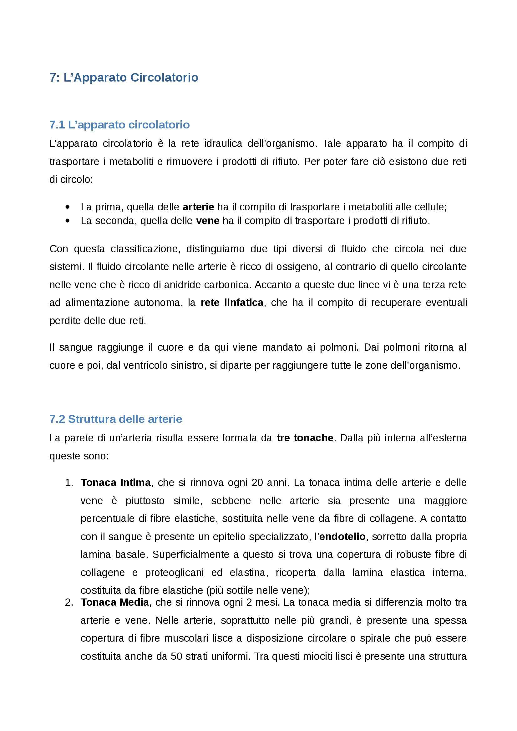 appunto G. Tajana Istologia ed embriologia umana