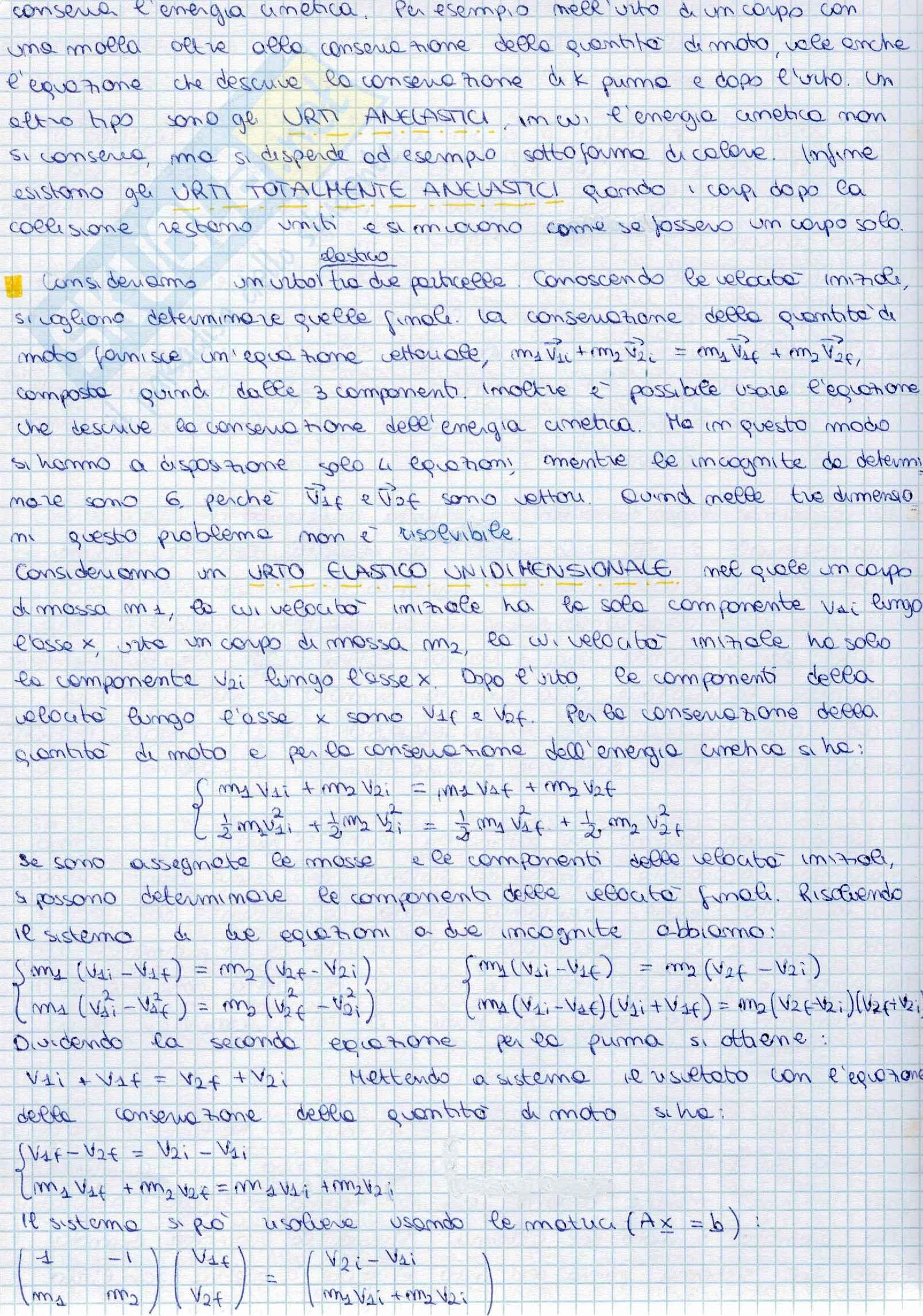 Appunti di Fisica I Pag. 26