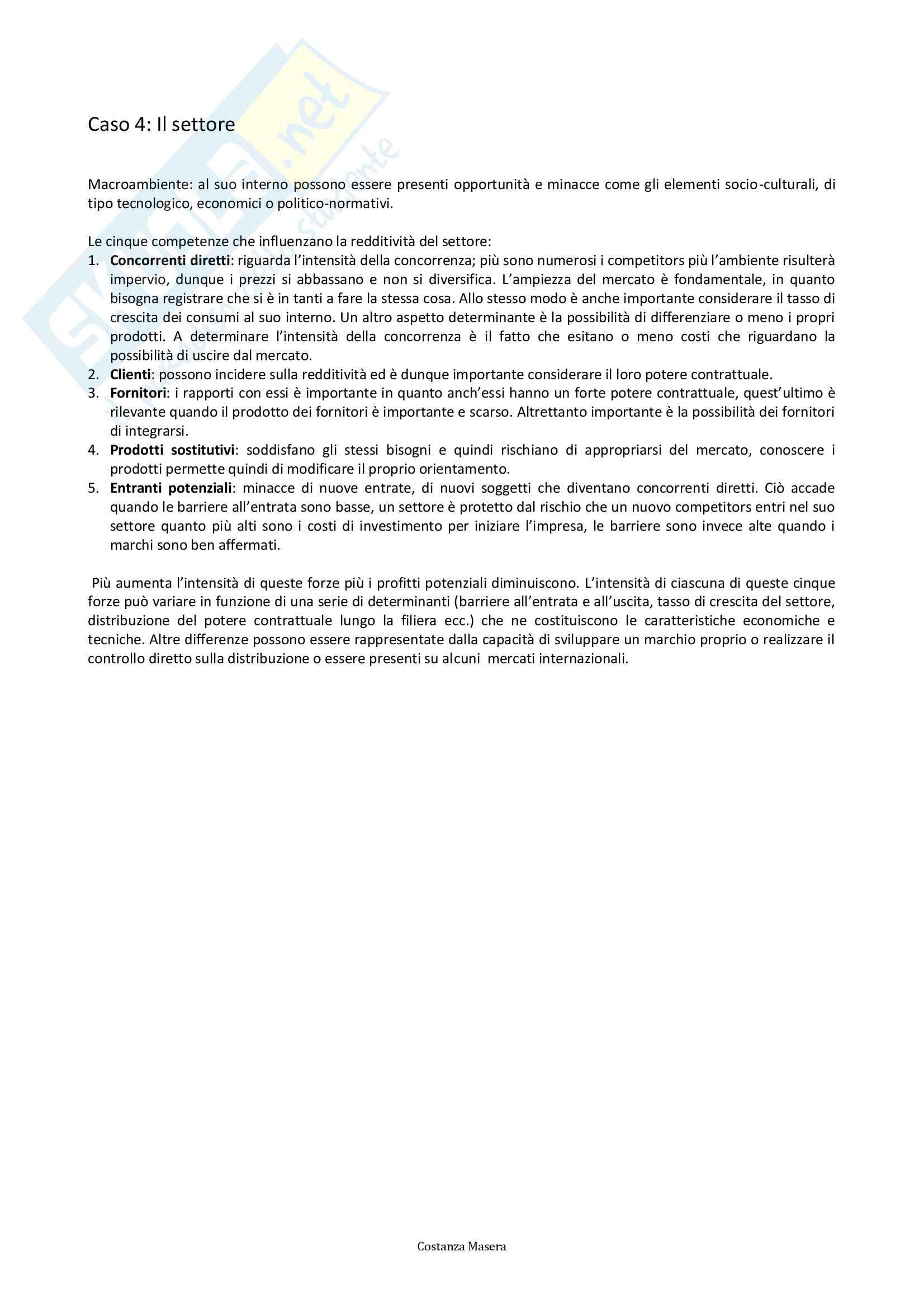Economia aziendale, Esercitazioni Pag. 6