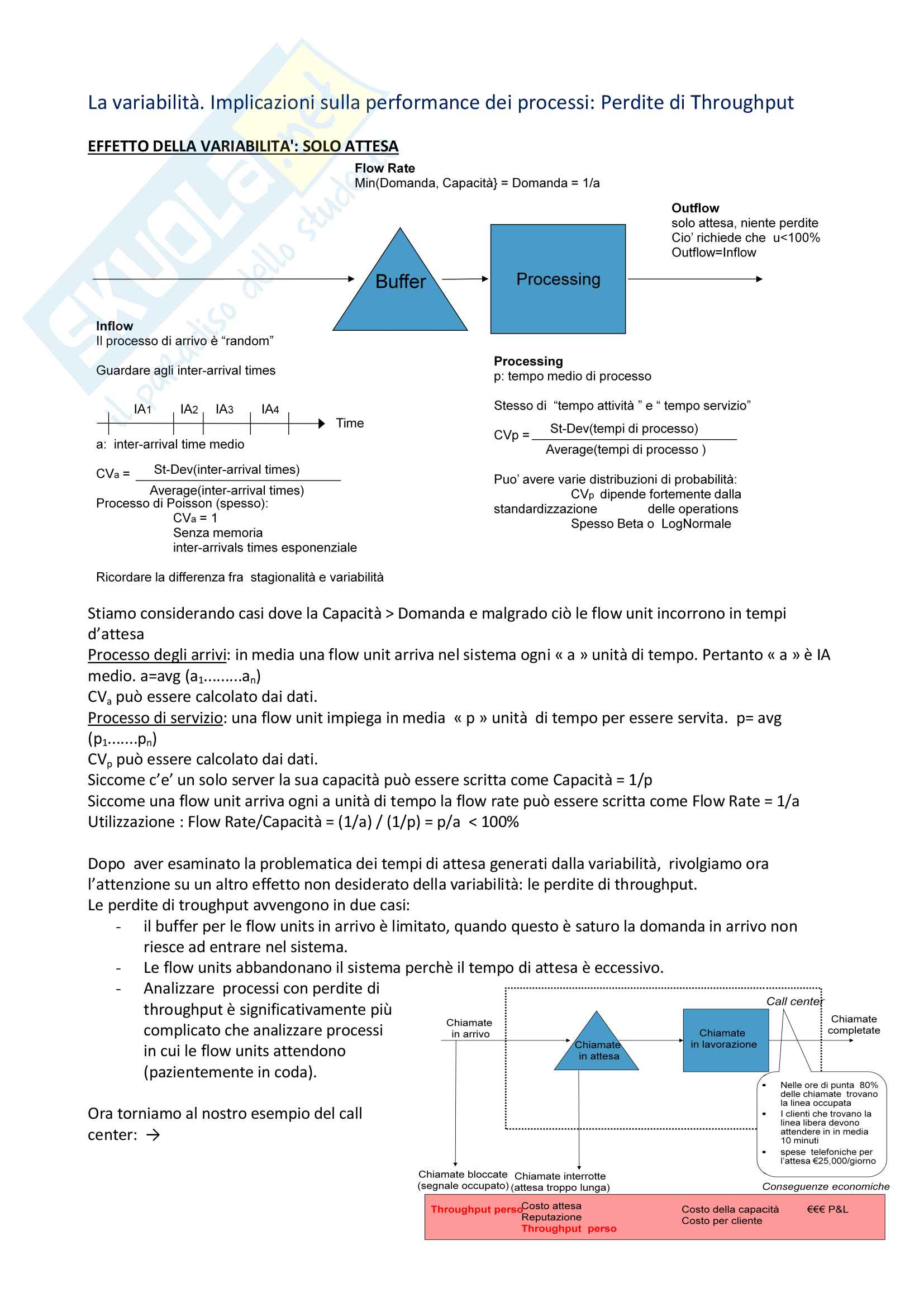 Riassunto esame Sistemi dinamici e strategia d'impresa, Prof Bernuzzi Pag. 66