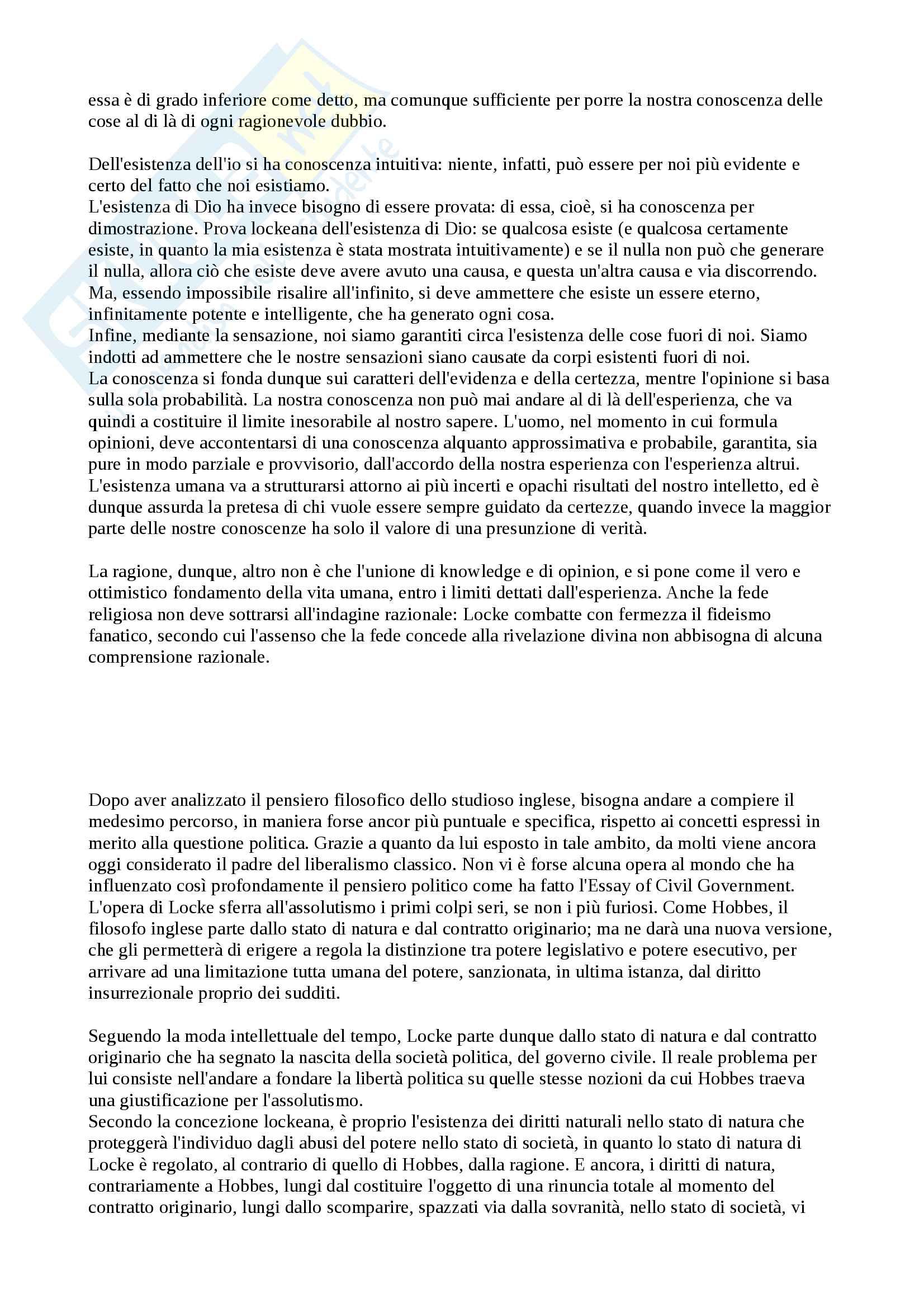 """Riassunto esame Storia delle dottrine politiche, prof. Modugno, libro consigliato """"Le grandi opere del pensiero politico"""", Chevallier Pag. 21"""