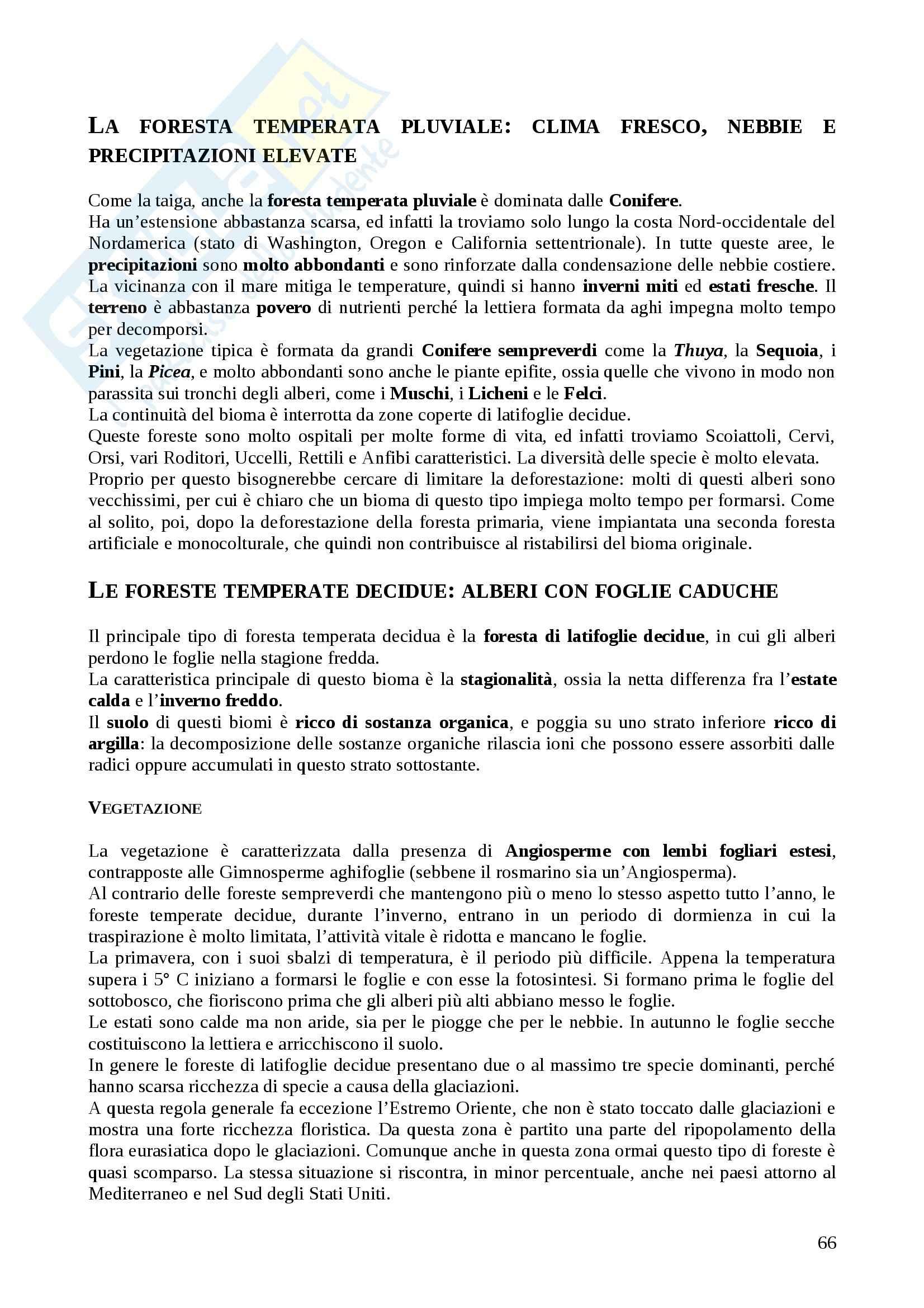 Riassunto esame Ecologia, prof. Acosta, libro consigliato L'essenziale di Ecologia, Townsend, Harper, Begon Pag. 66