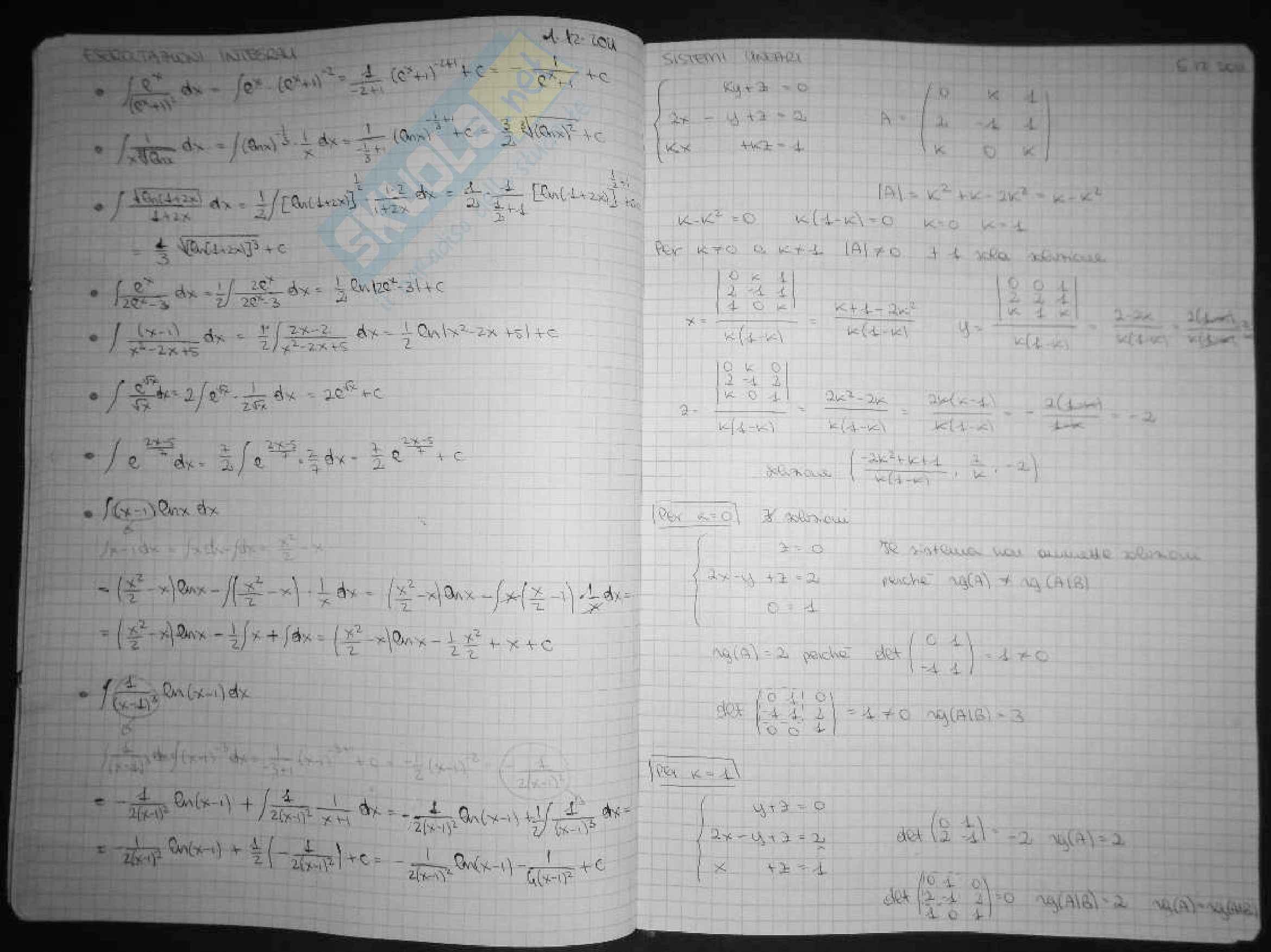 Esercitazioni matematica generale Pag. 46