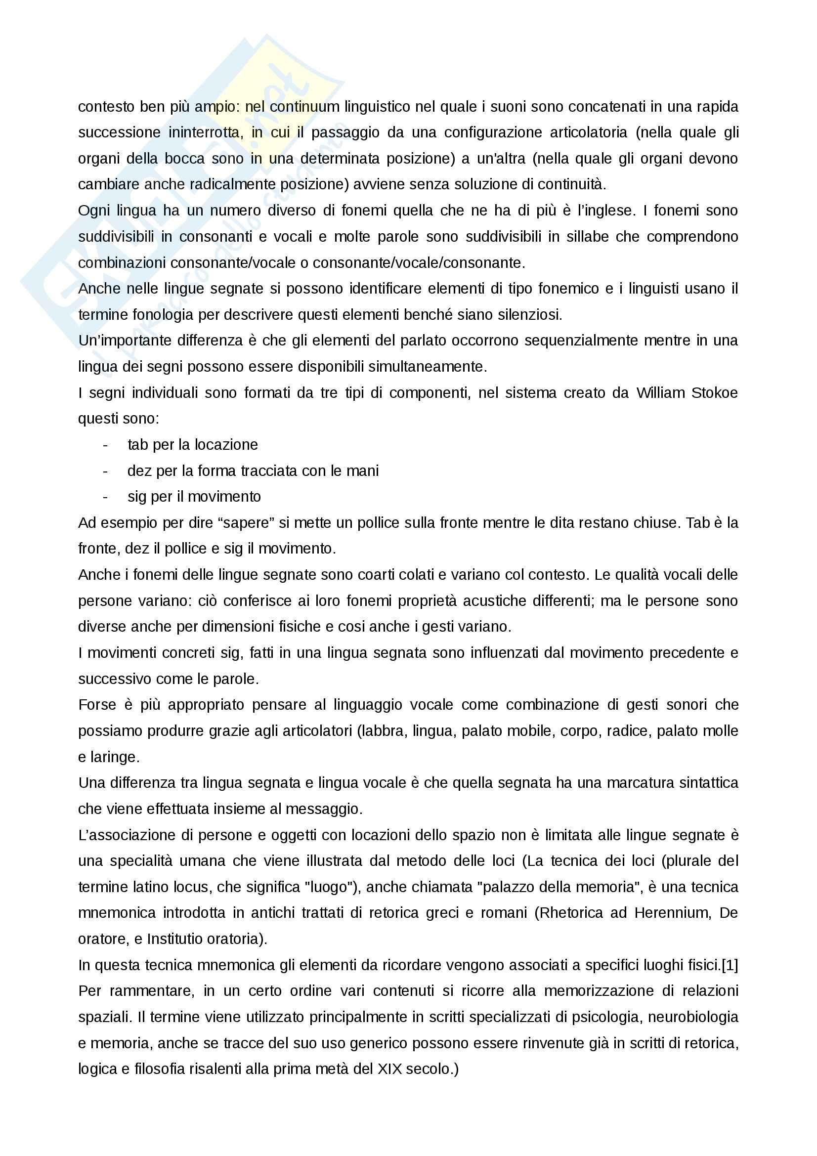 Riassunto esame Linguaggio e comunicazione giornalistica, prof. Donati, libro consigliato Dalla mano alla bocca, Corballis Pag. 16