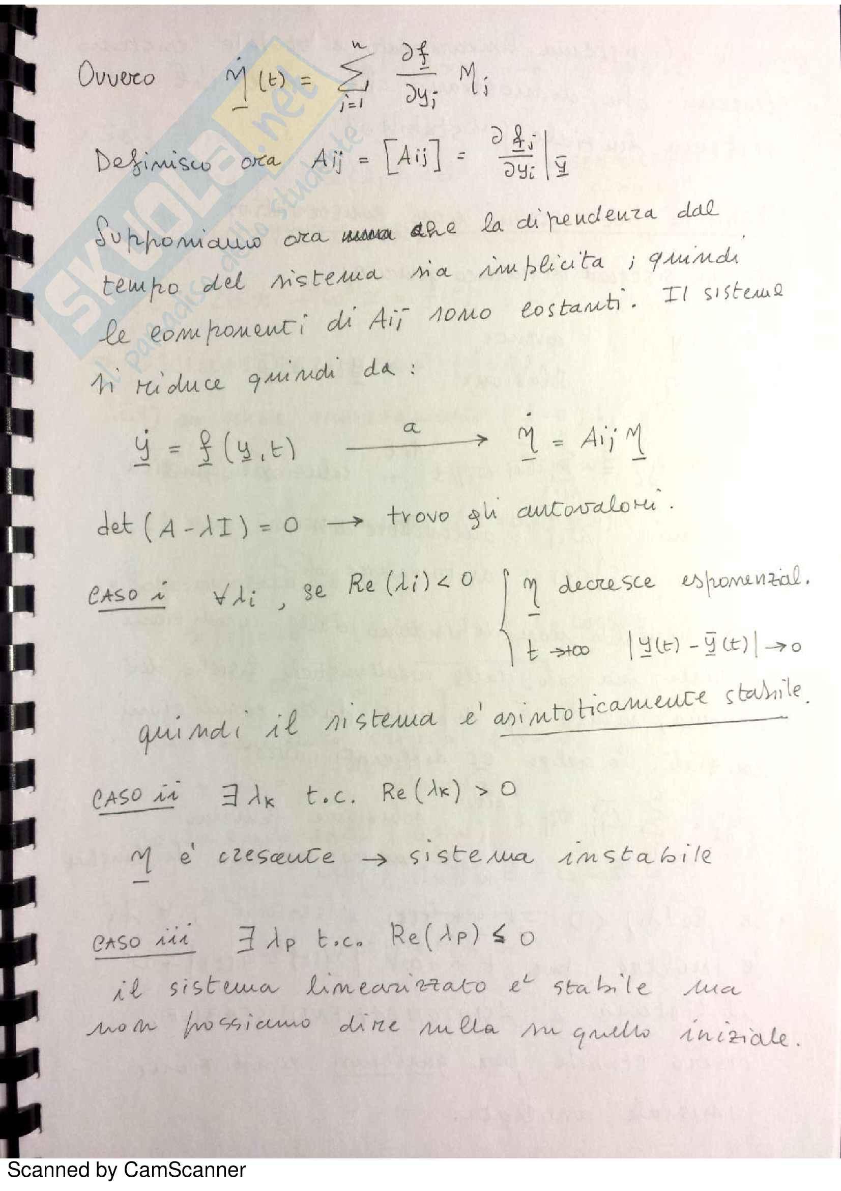 Appunti di Meccanica Razionale Pag. 66