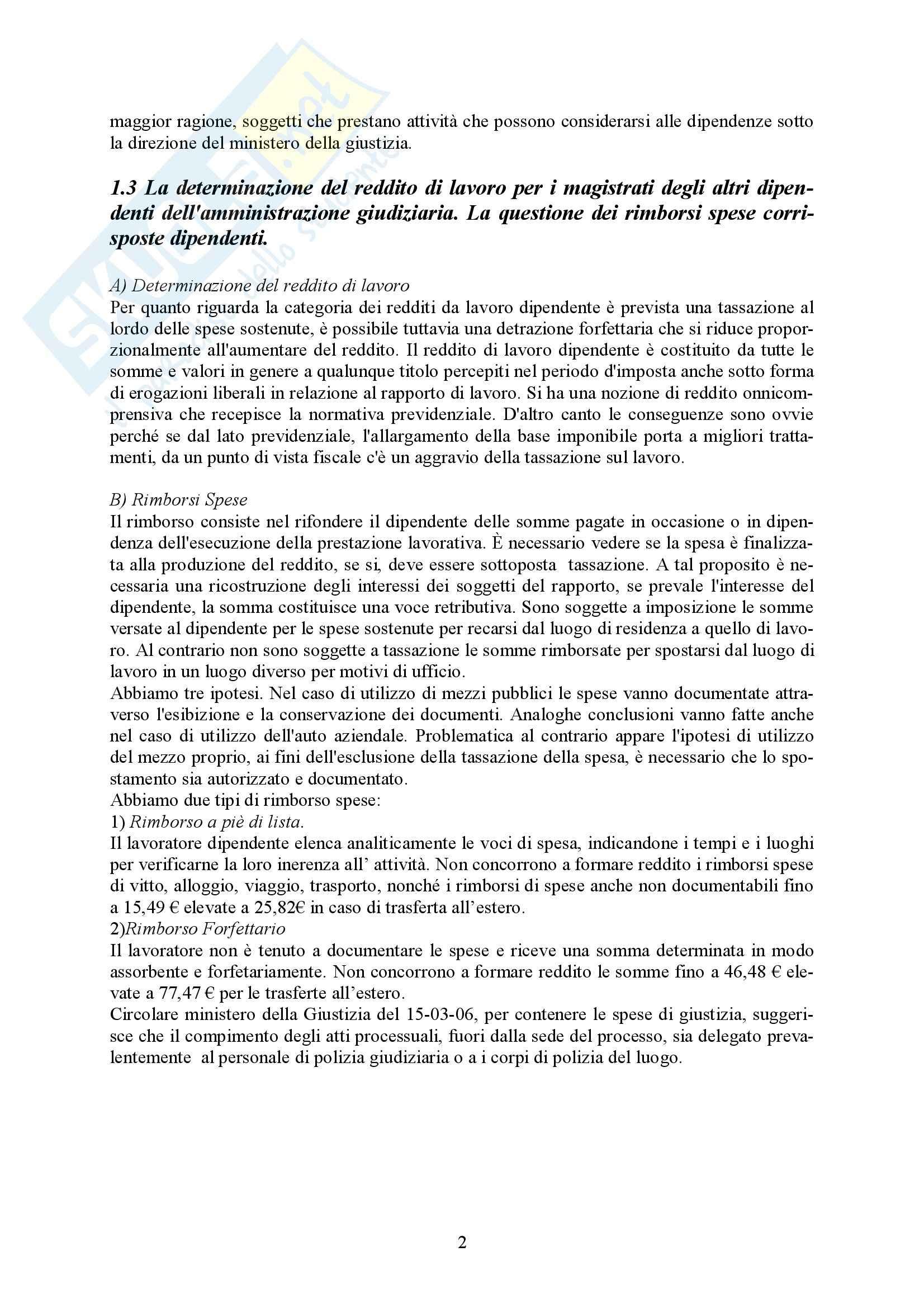 Riassunto esame Diritto Tributario, prof. Uricchio, libro consigliato Attività giudiziaria e imposizione tributaria Pag. 2