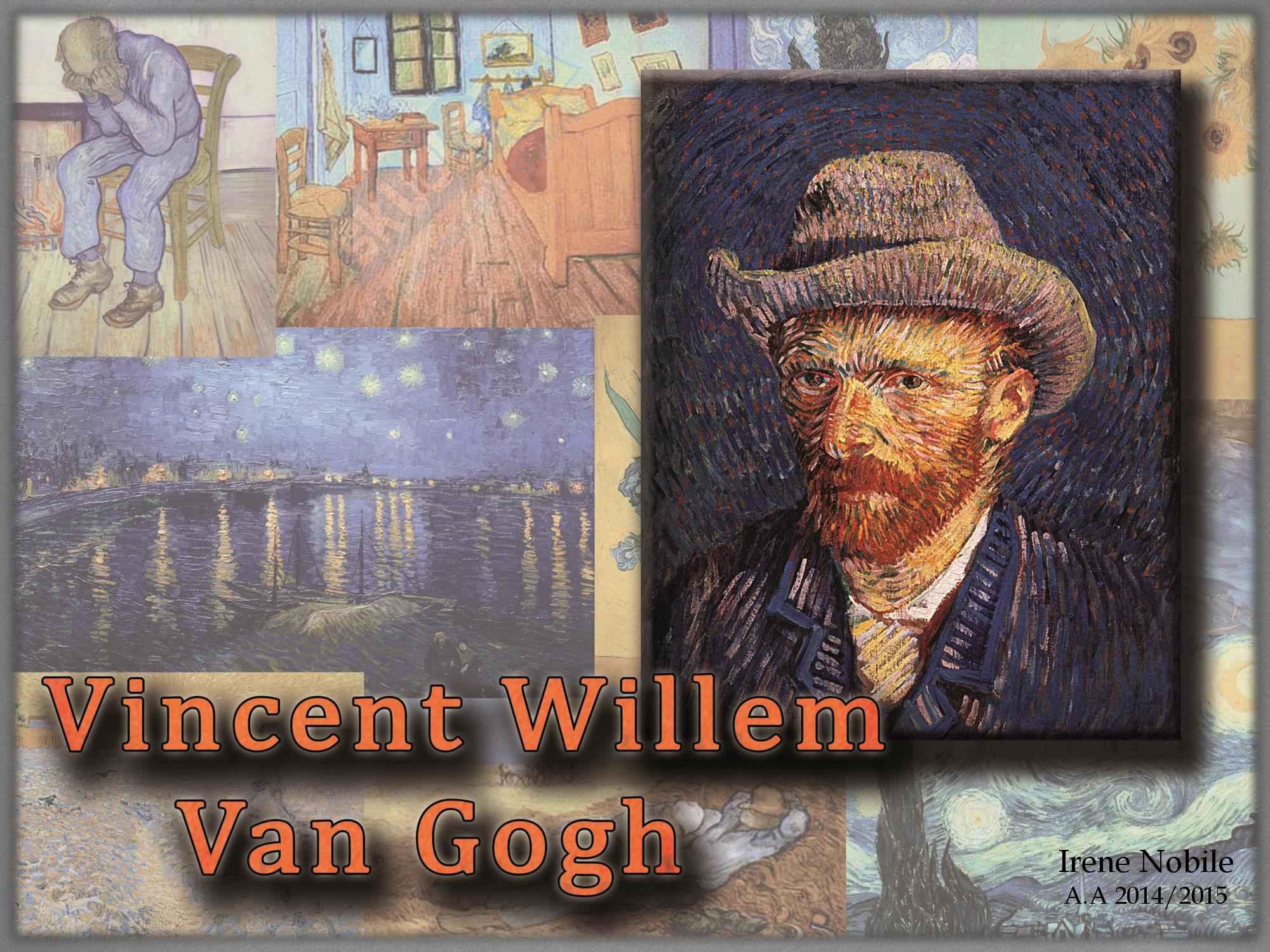 Tesina di storia dell'arte contemporanea su Vincent Van Gogh