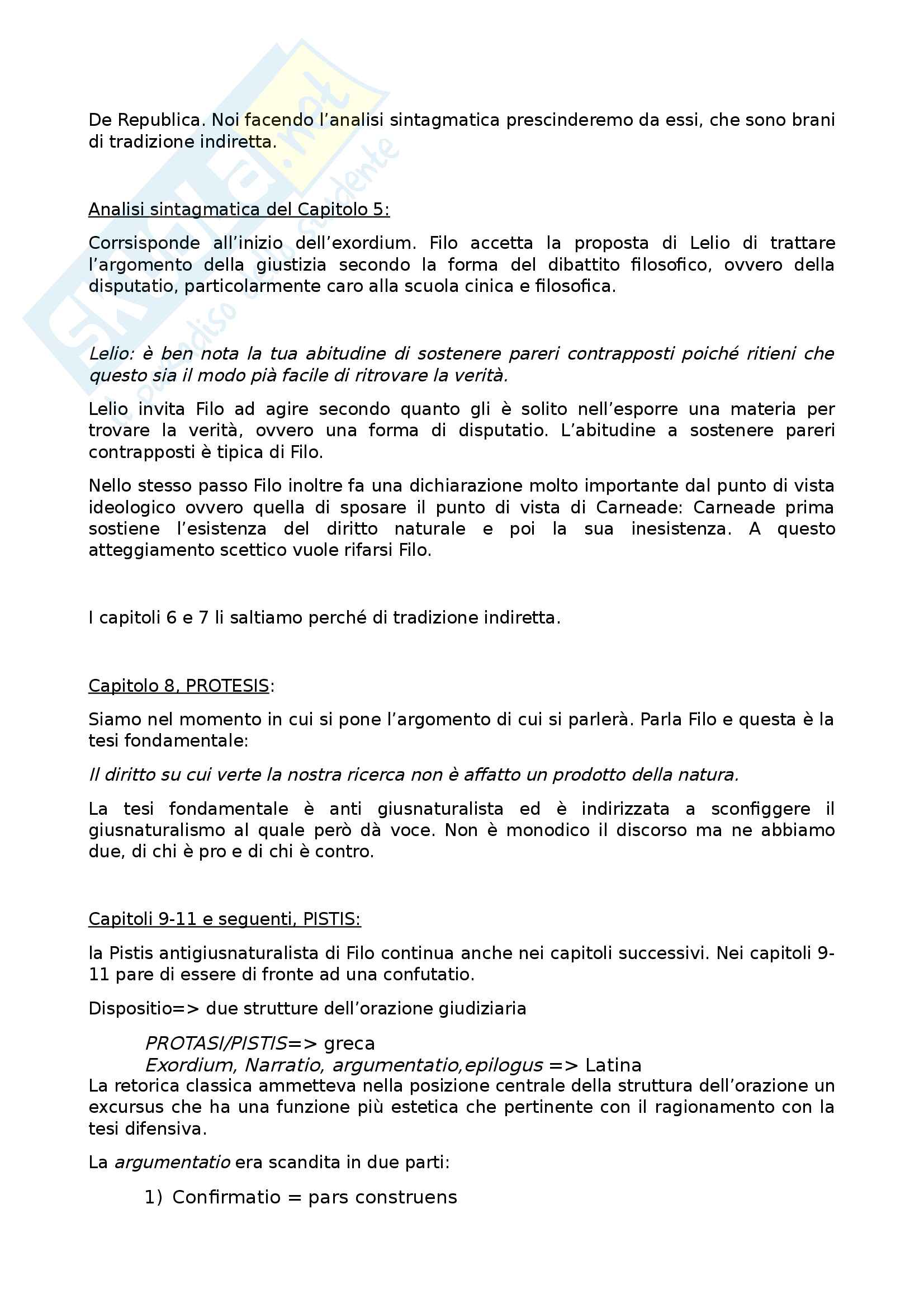 Appunti completi secondo semestre letteratura latina II Pag. 11