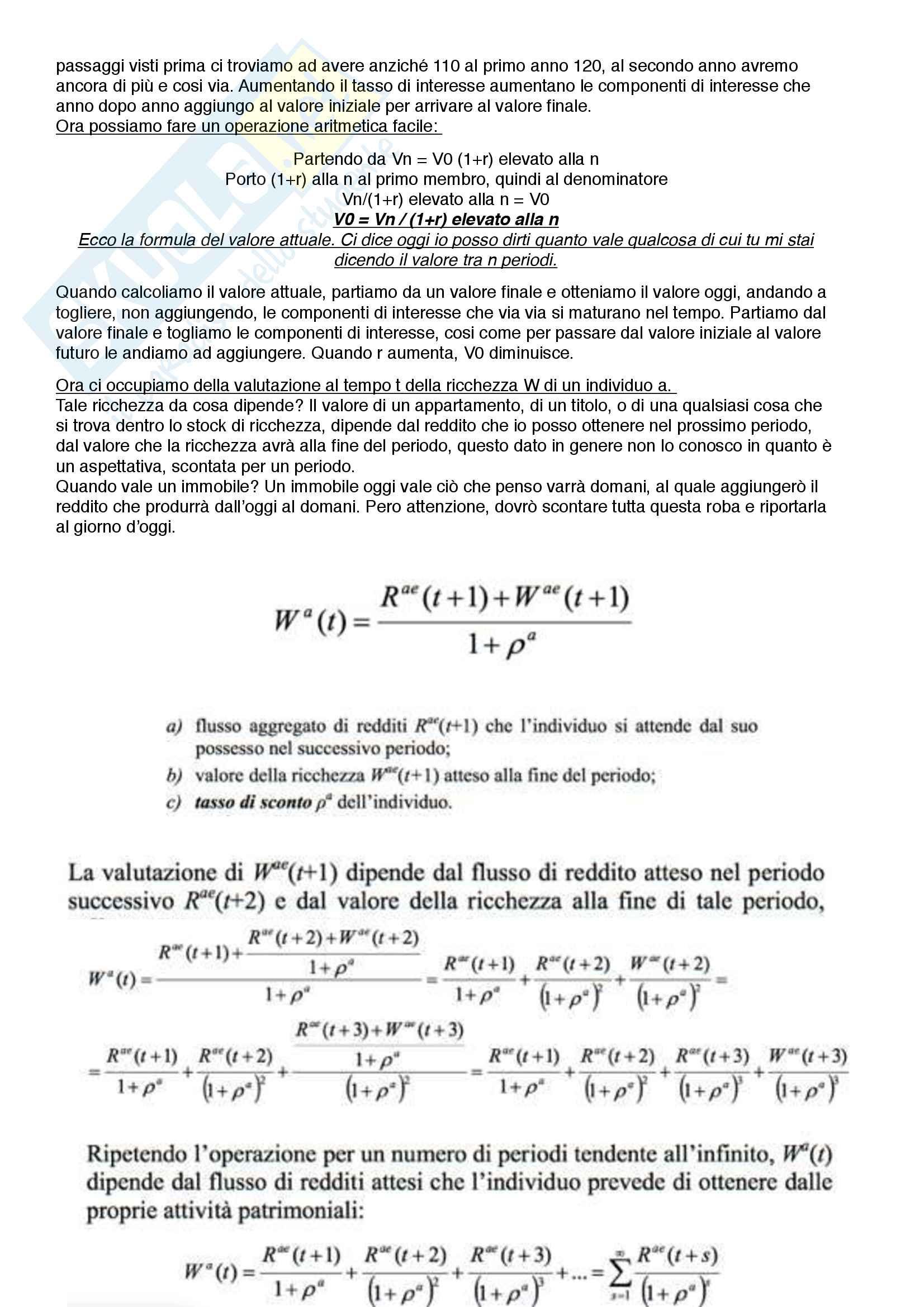 Riassunto Politica Monetaria - Ciccarone Pag. 11
