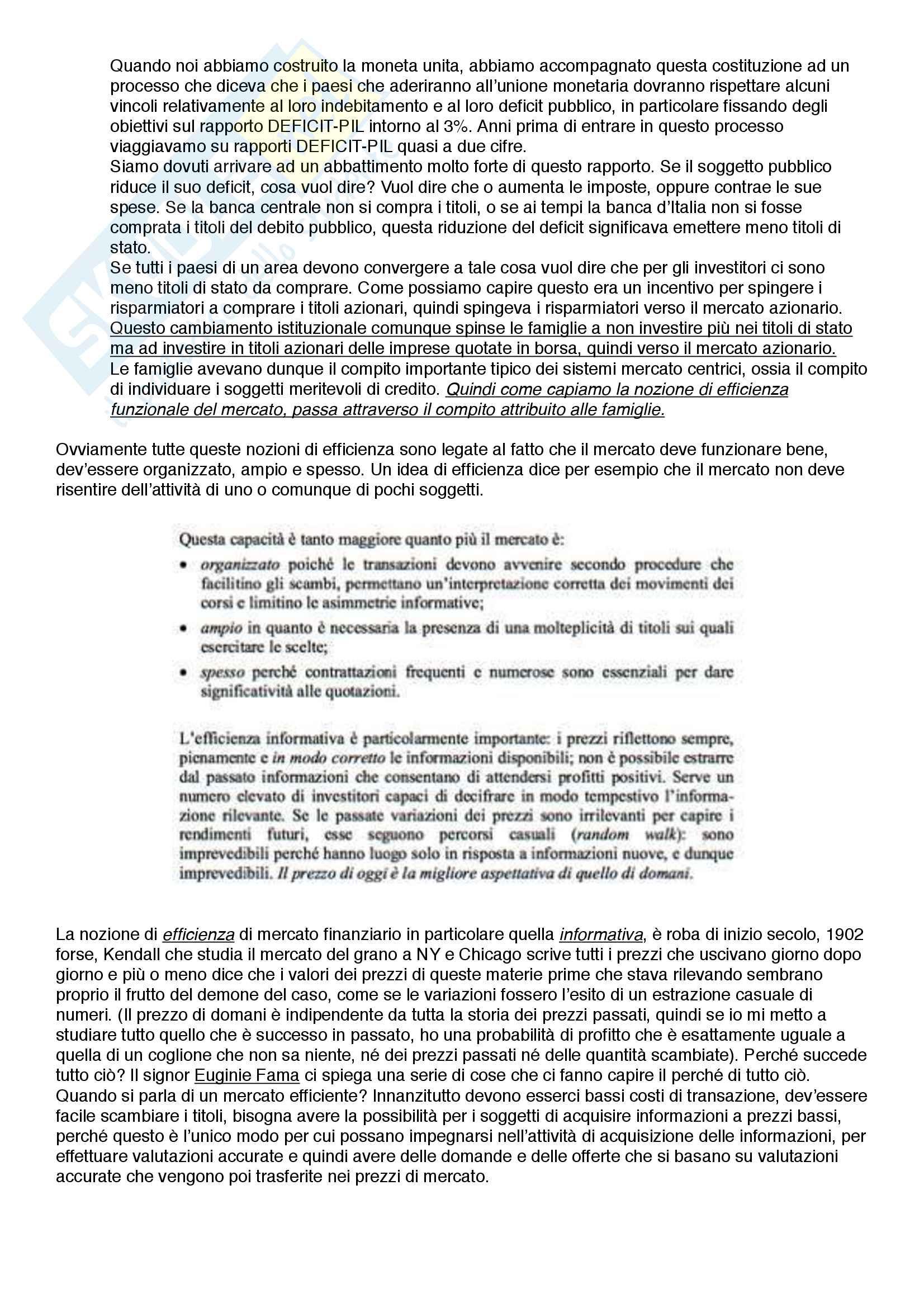 Riassunto Politica Monetaria - Ciccarone Pag. 36