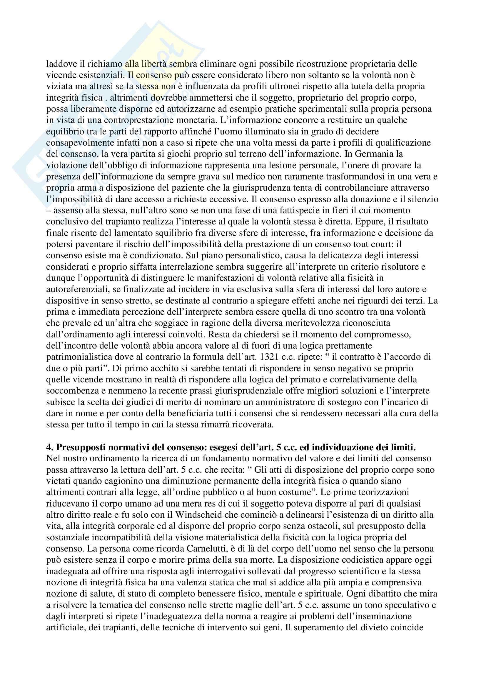 Riassunto esame Diritto privato, prof. Stanzione, libro consigliato Studi di diritto privato Pag. 26
